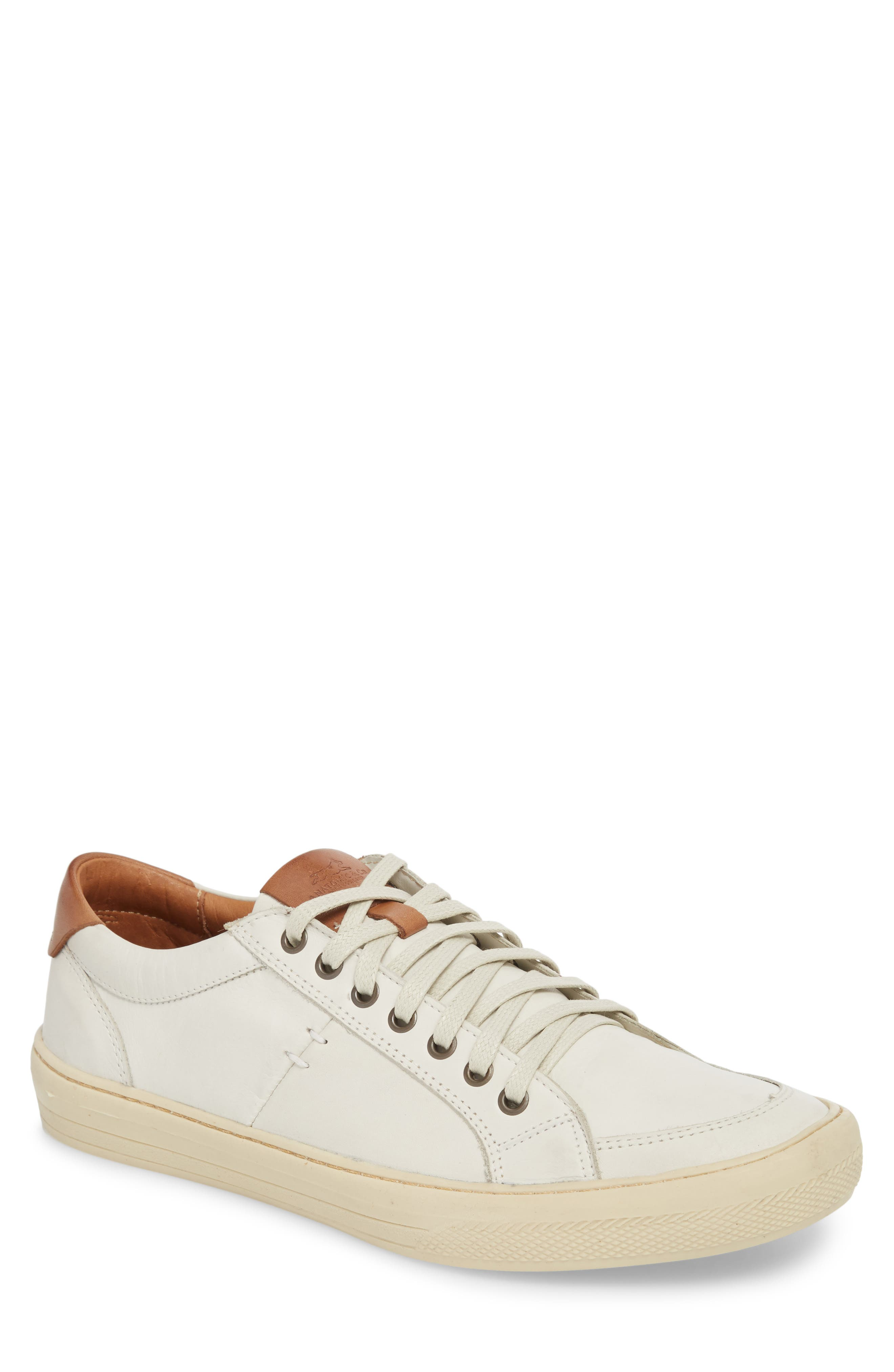 Bilac Low Top Sneaker,                             Main thumbnail 1, color,                             Touch Ice/ Bronze Leather