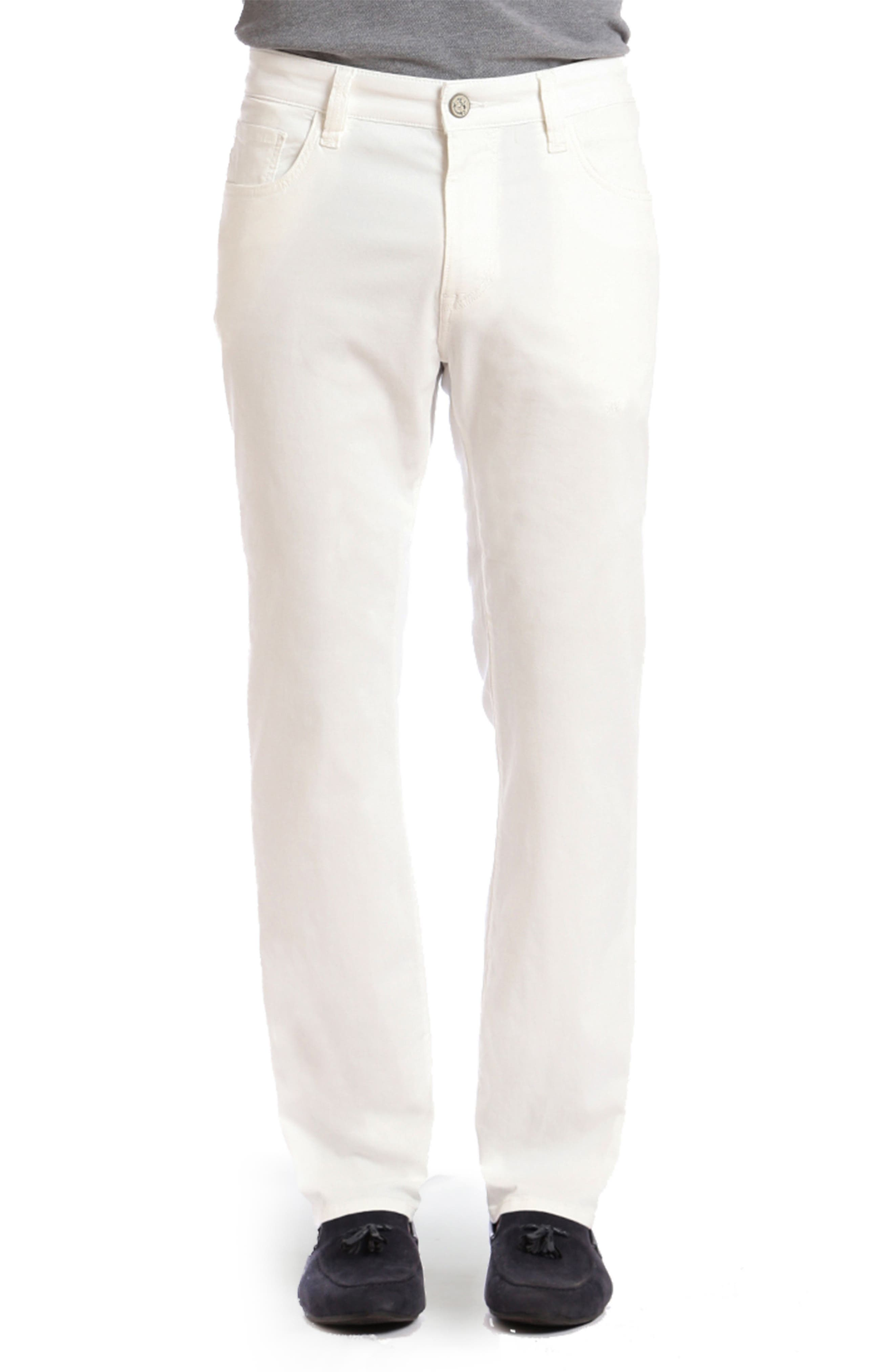 Charisma Relaxed Fit Jeans,                         Main,                         color, Natural Fine Twill