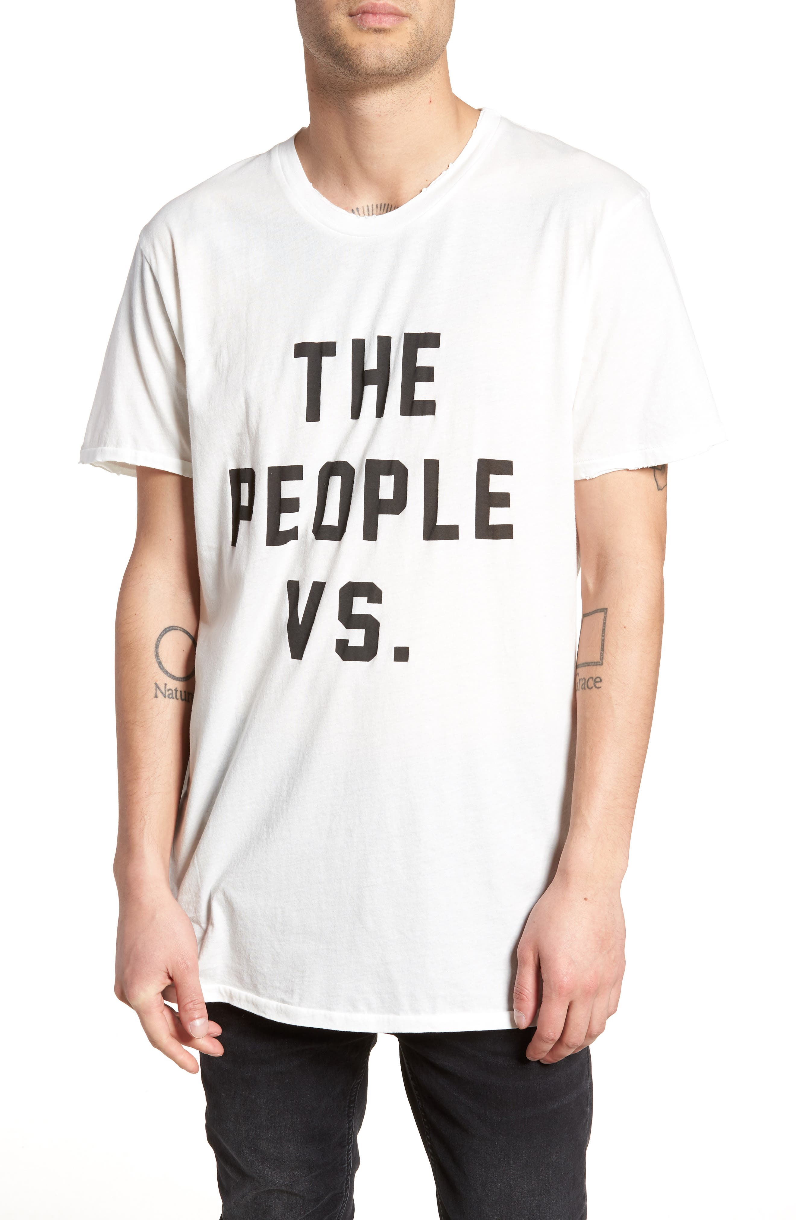 Logo Moth T-Shirt,                         Main,                         color, Off White