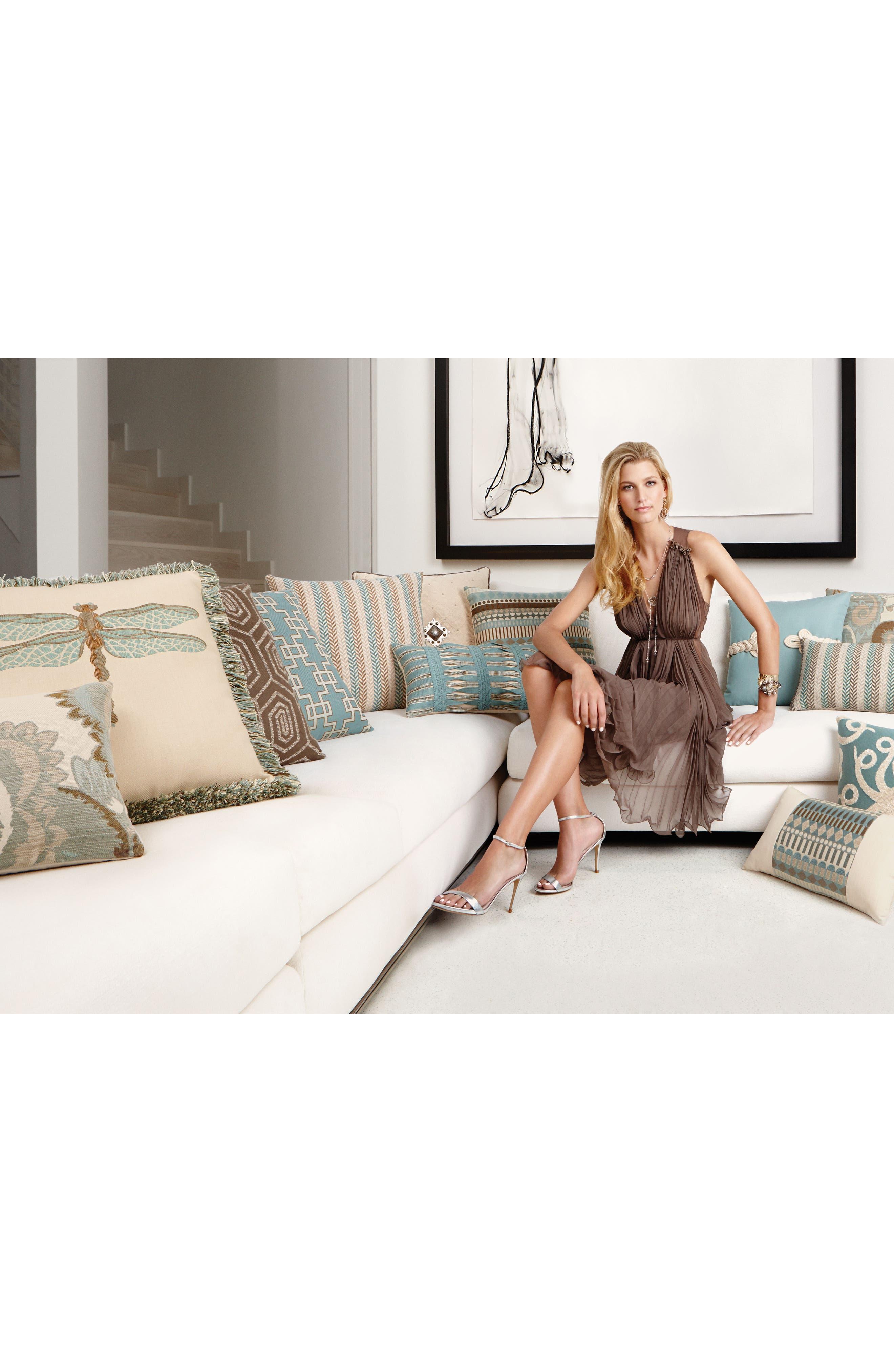 Alternate Image 3  - Elaine Smith Octoplush Indoor/Outdoor Accent Pillow