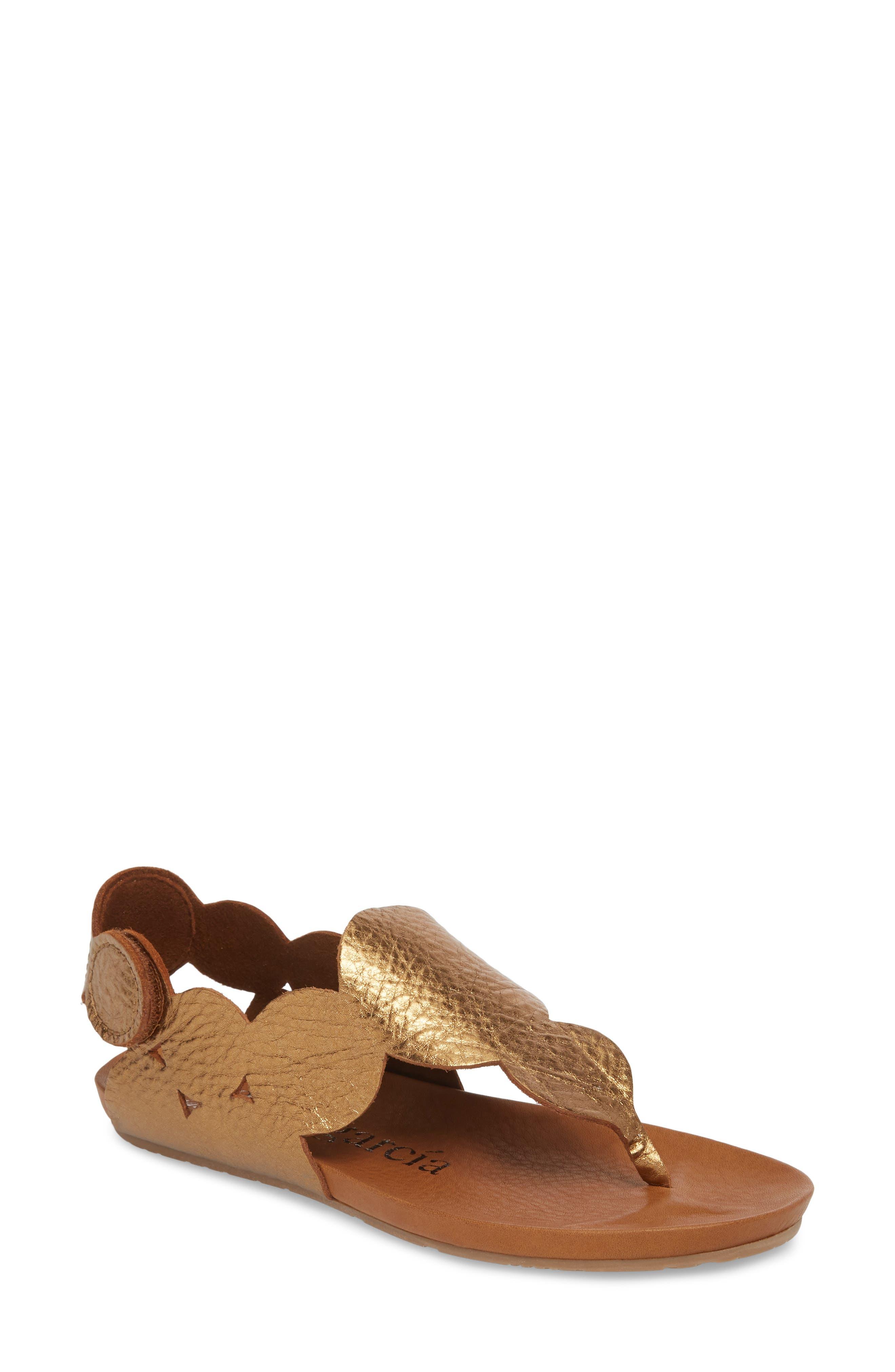 Jamee Sandal,                         Main,                         color, Tobacco Cervo Lame