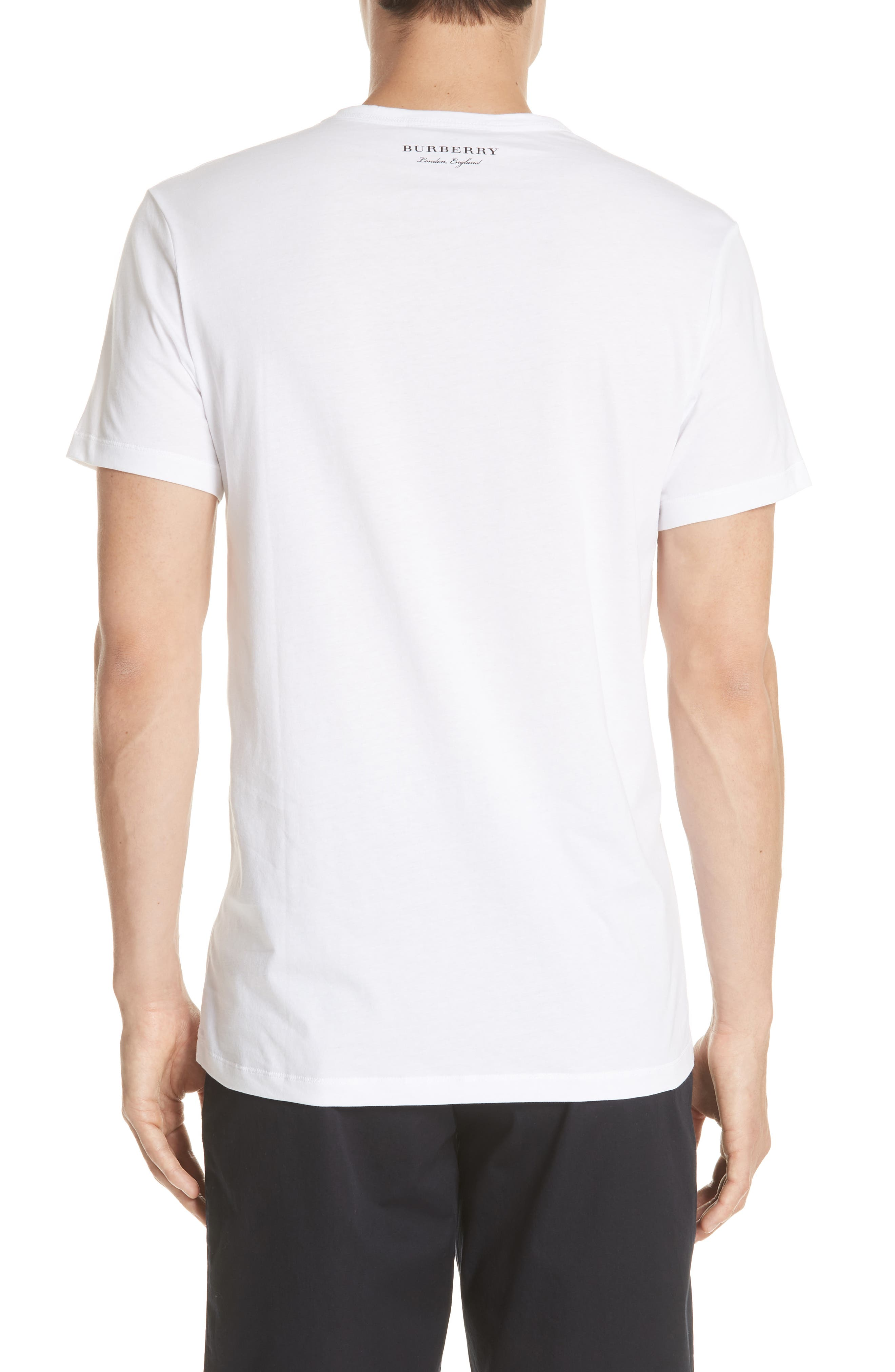 Alternate Image 2  - Burberry Camberley Abith Graphic T-Shirt