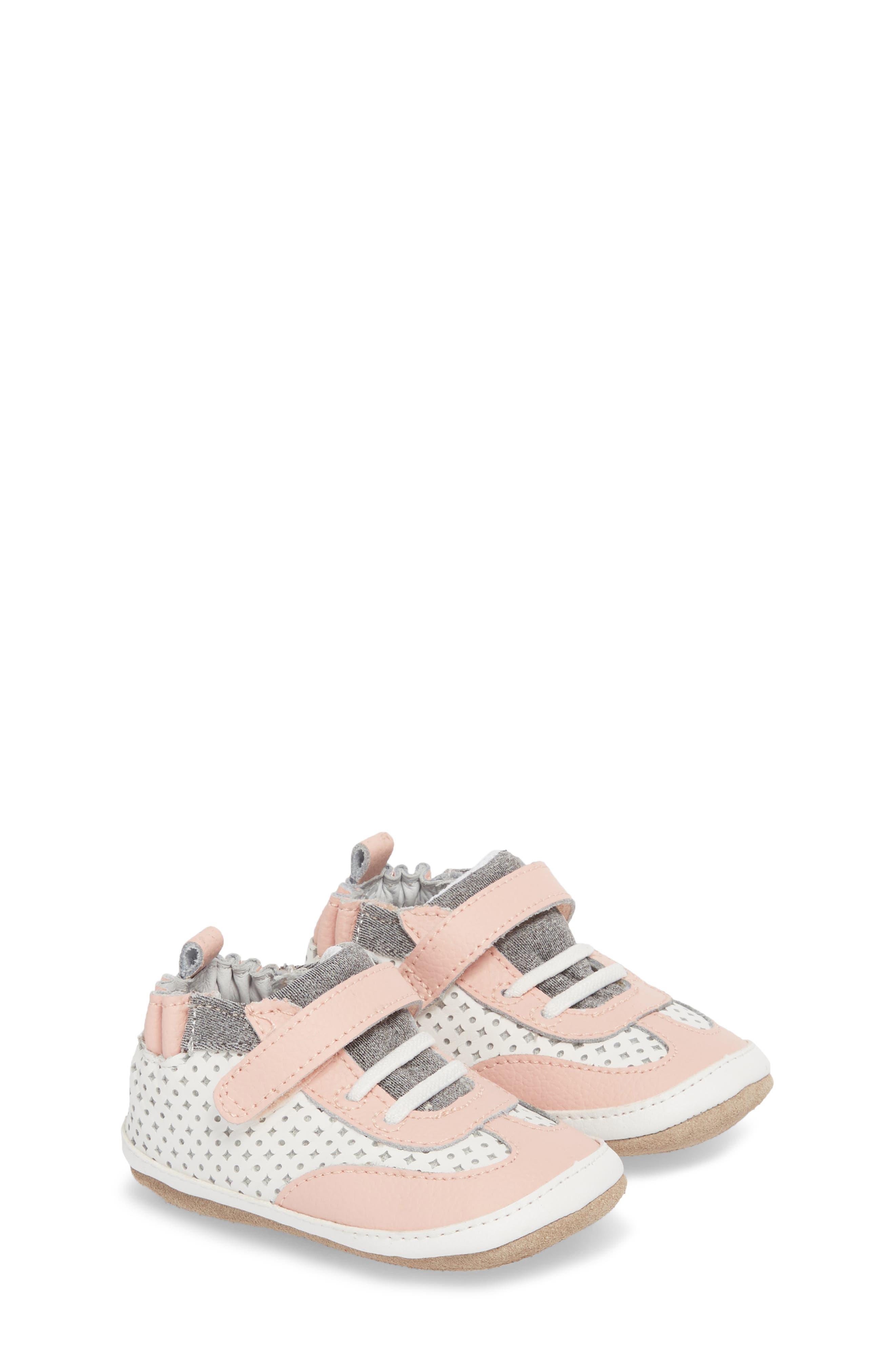 Mini Shoez Katie's Kicks Sneaker,                             Alternate thumbnail 3, color,                             Pink