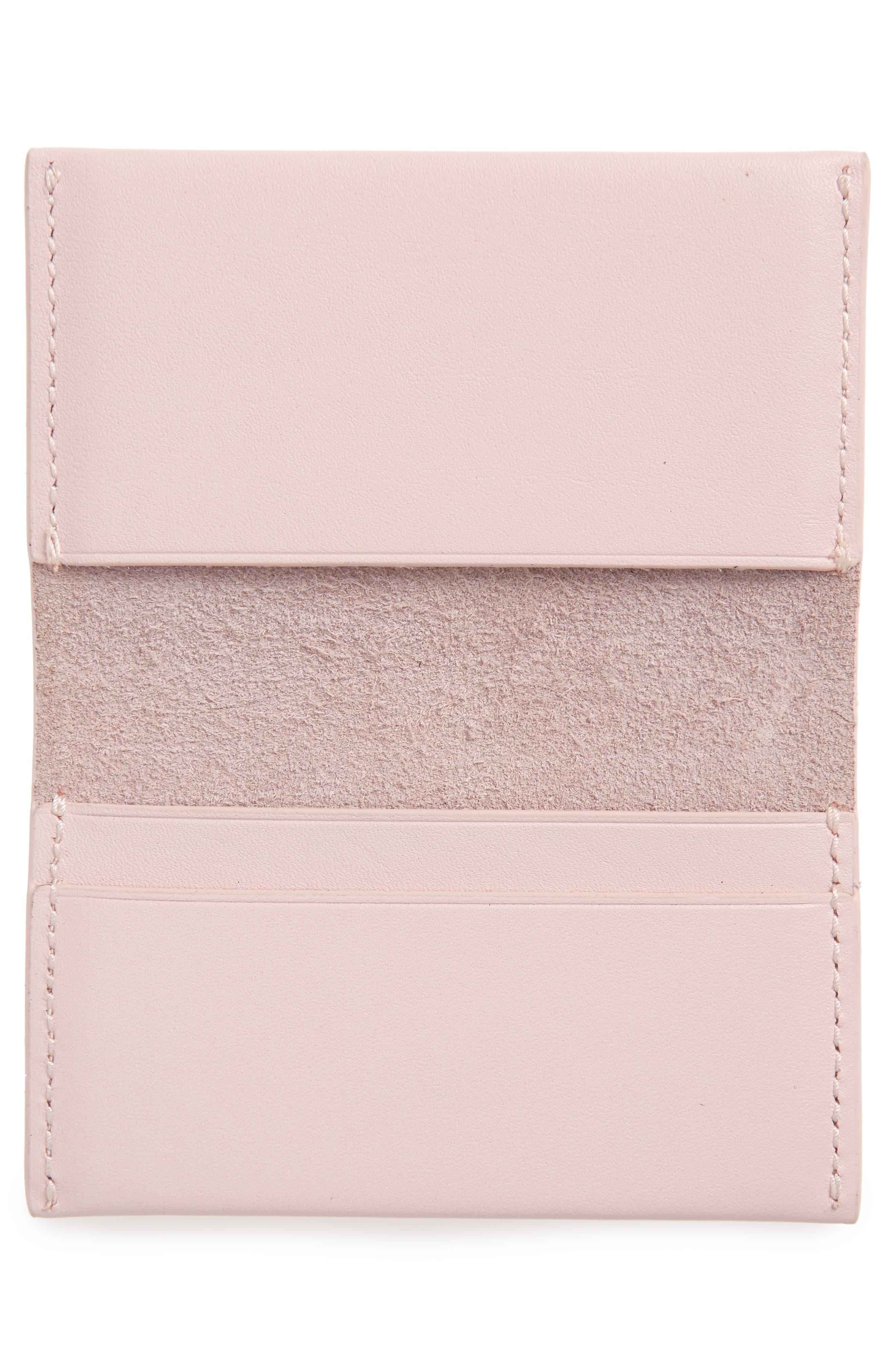 Alternate Image 2  - Baggu Leather Card Case