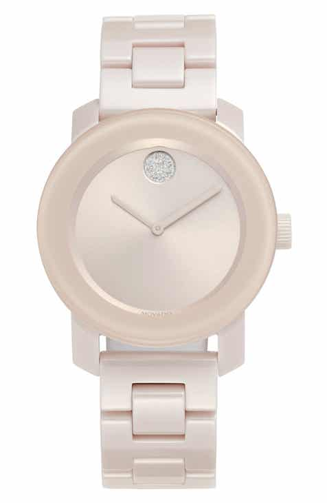 a56354560b3a Movado Bold Ceramic Bracelet Watch