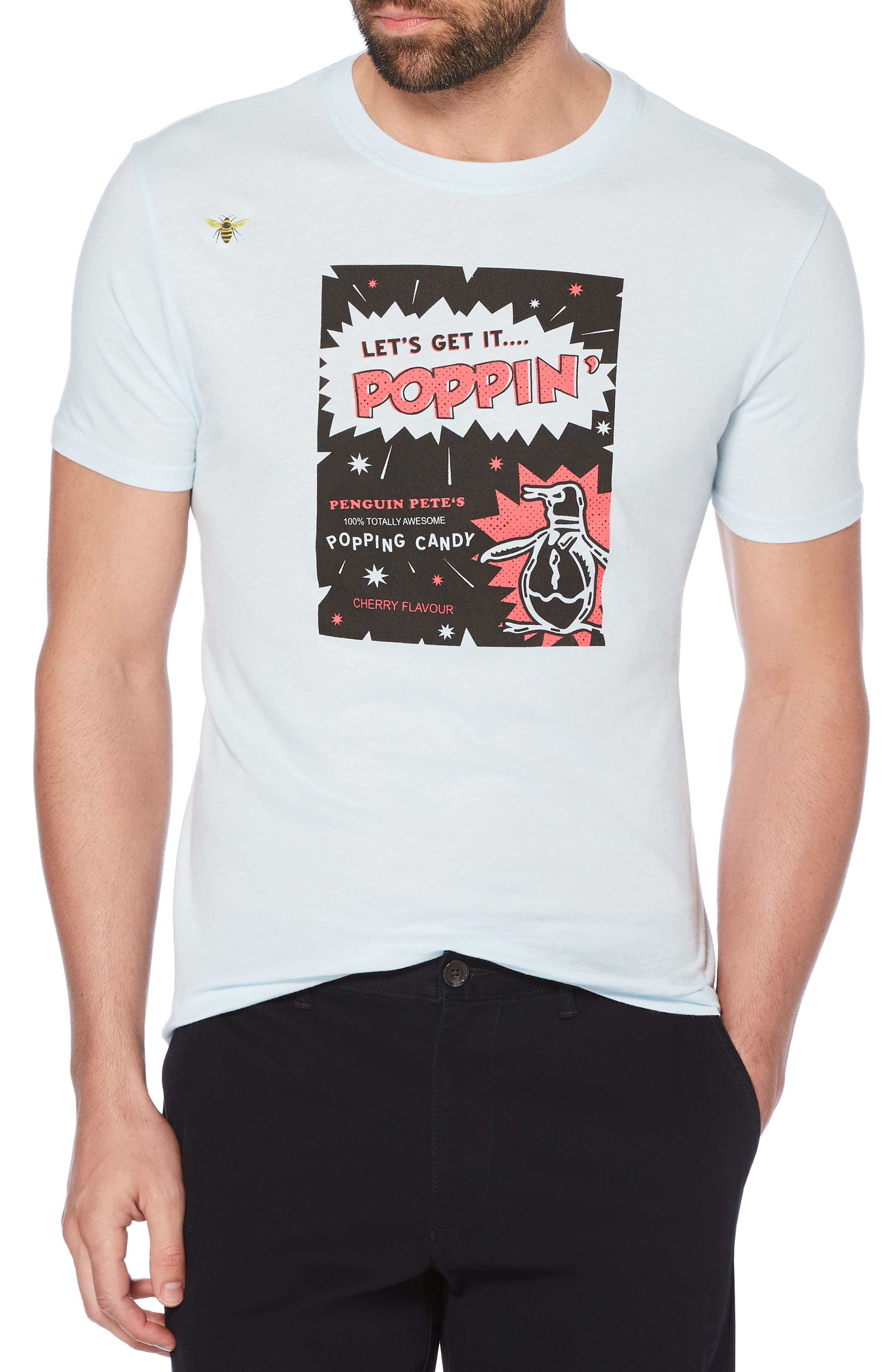 Get It Poppin' T-Shirt,                         Main,                         color, Omphalodes