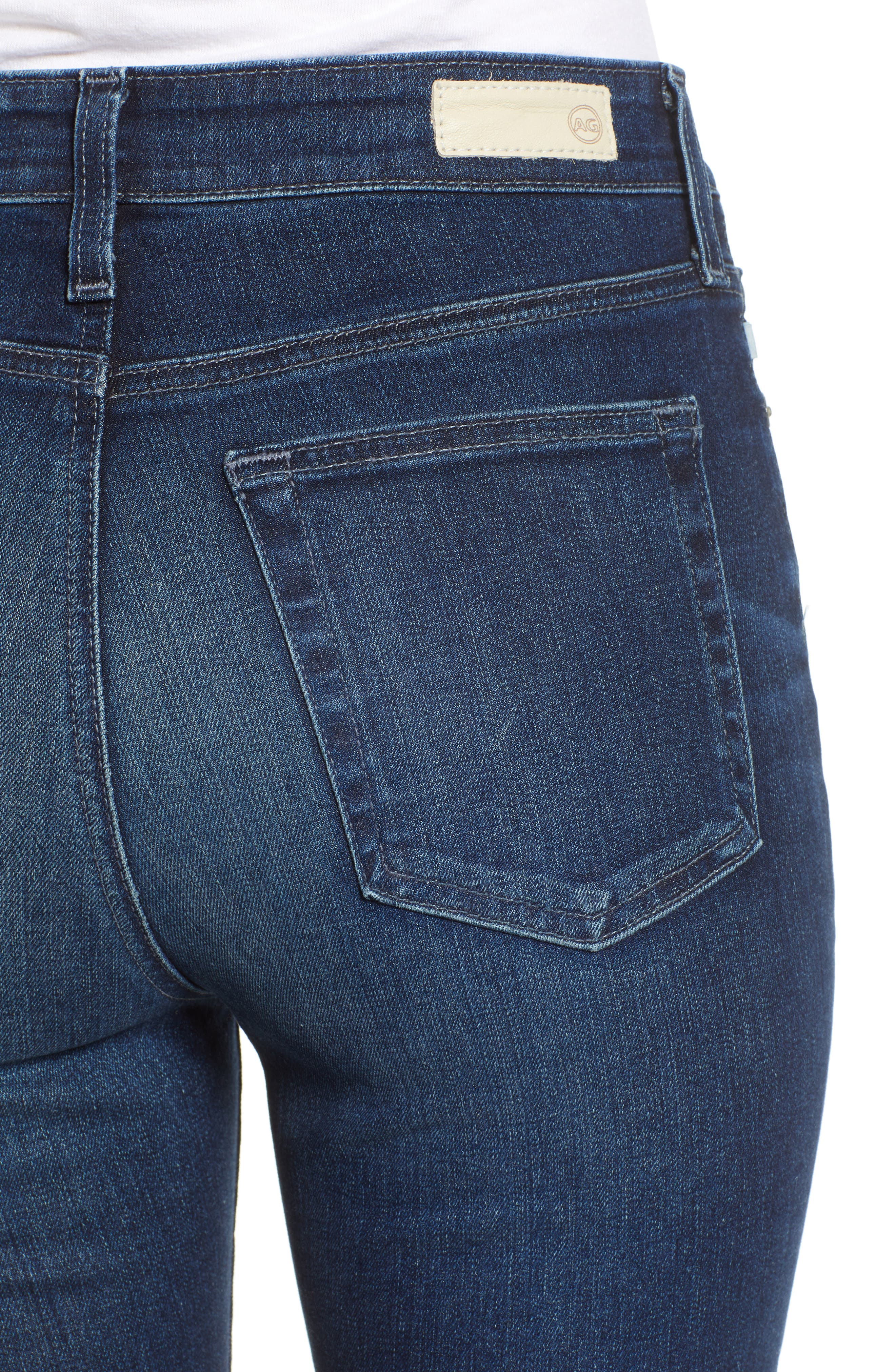 Mila Ankle Skinny Jeans,                             Alternate thumbnail 4, color,                             4 Years Deep Willows
