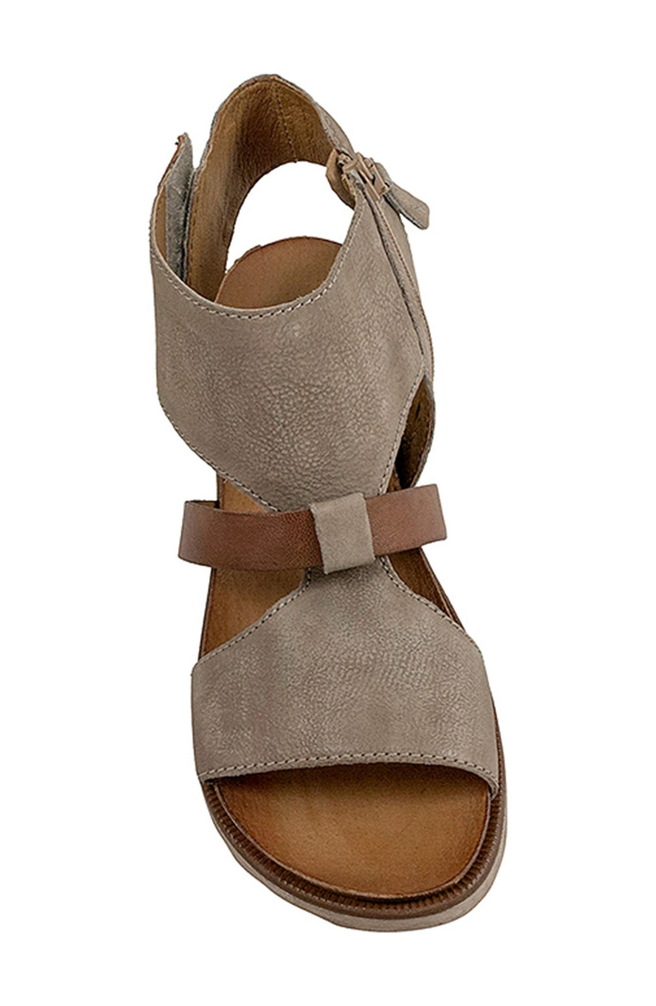 'Tamsyn' Sandal,                             Alternate thumbnail 5, color,                             Pebble Leather