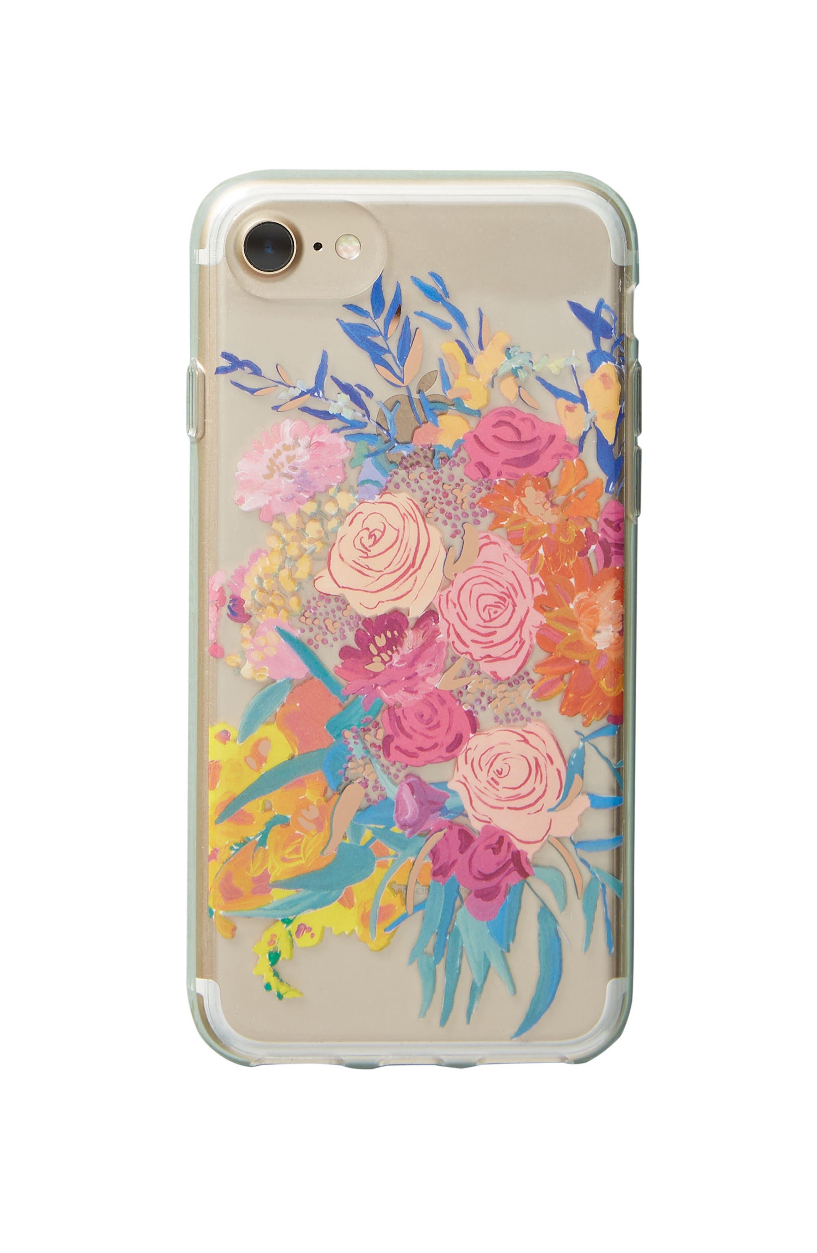 Bridgette Thornton iPhone 6/6s/7/8 Case,                             Alternate thumbnail 4, color,                             Pink