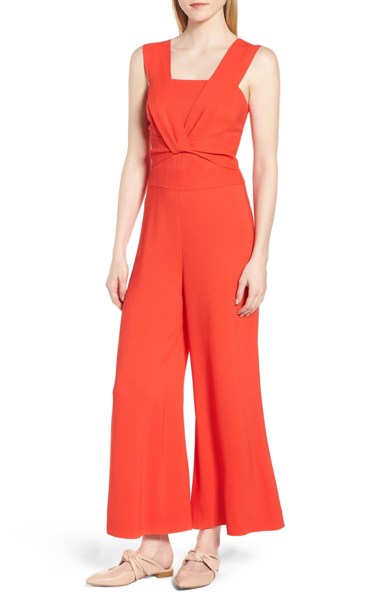 Twist Detail Jumpsuit