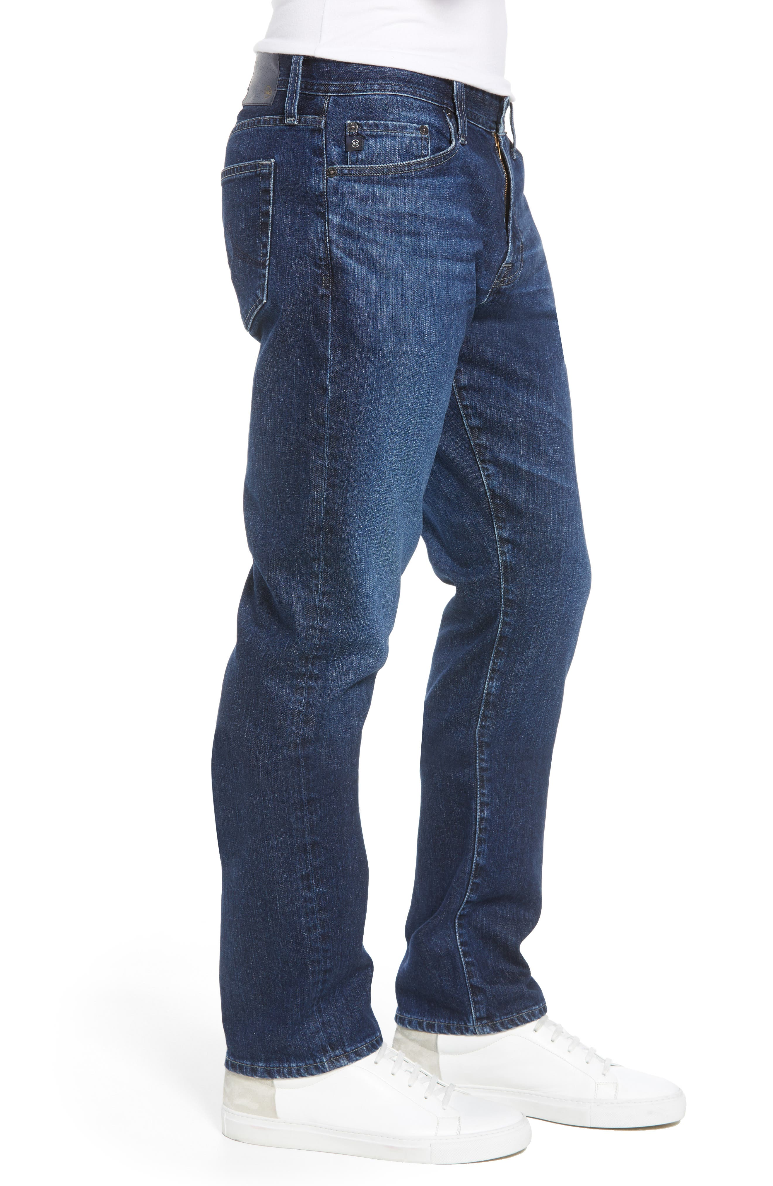 Ives Straight Leg Jeans,                             Alternate thumbnail 3, color,                             Lakeview