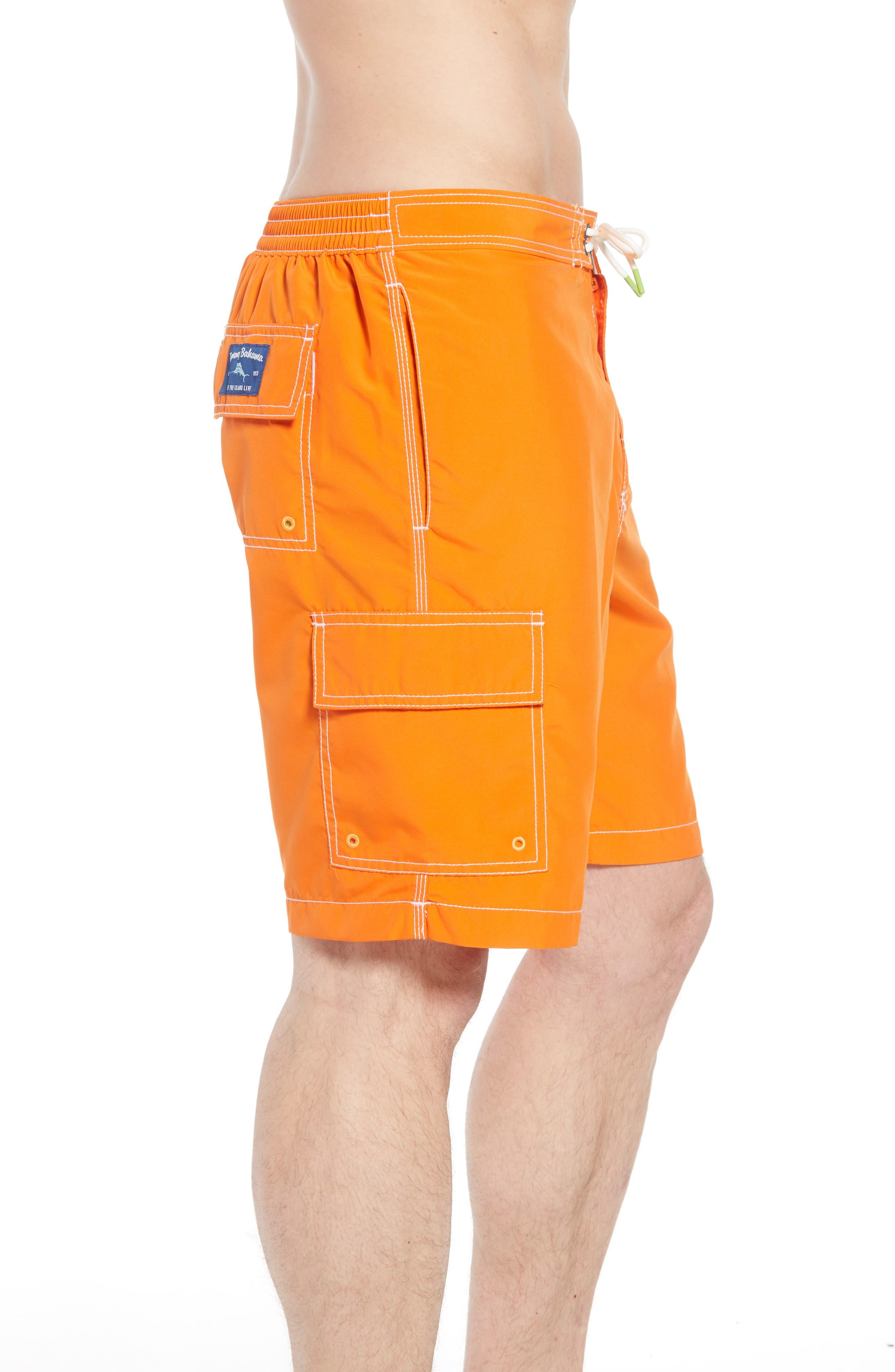 Baja Beach Board Shorts,                             Alternate thumbnail 4, color,                             Curuba