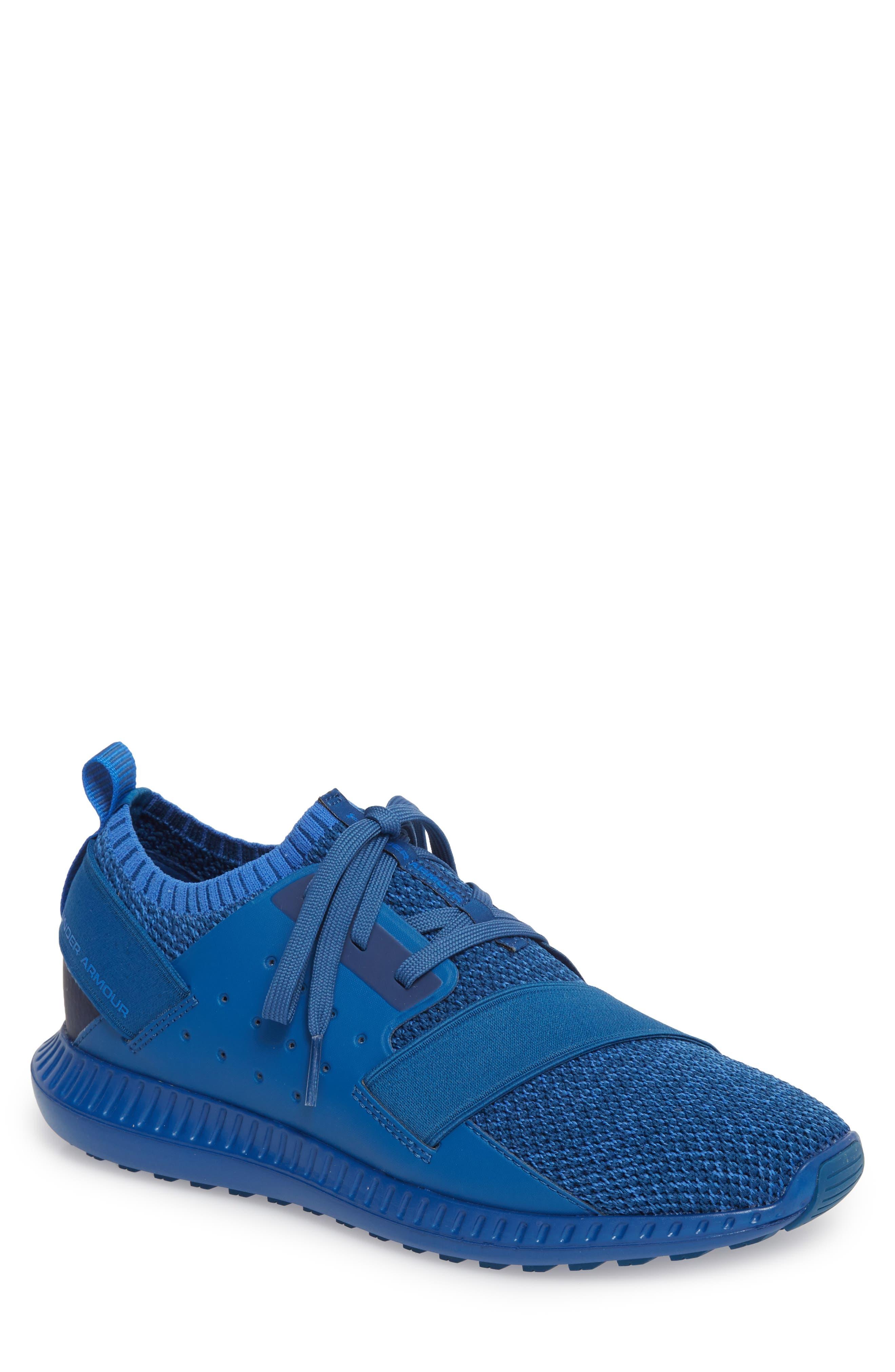 Threadborne Shift Sneaker,                             Main thumbnail 1, color,                             Blue / Mediterranean