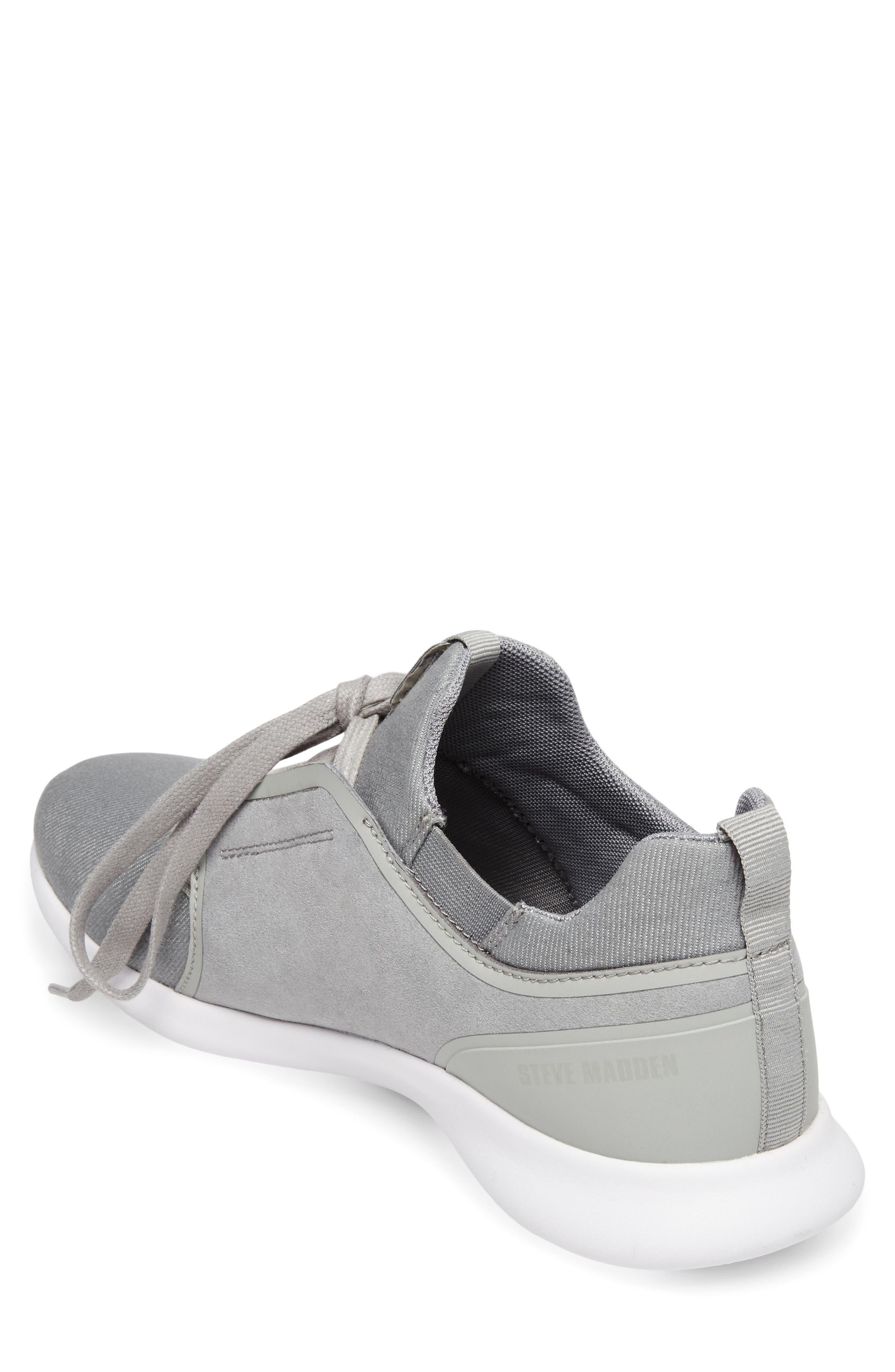 Barrett Sneaker,                             Alternate thumbnail 2, color,                             Grey Leather