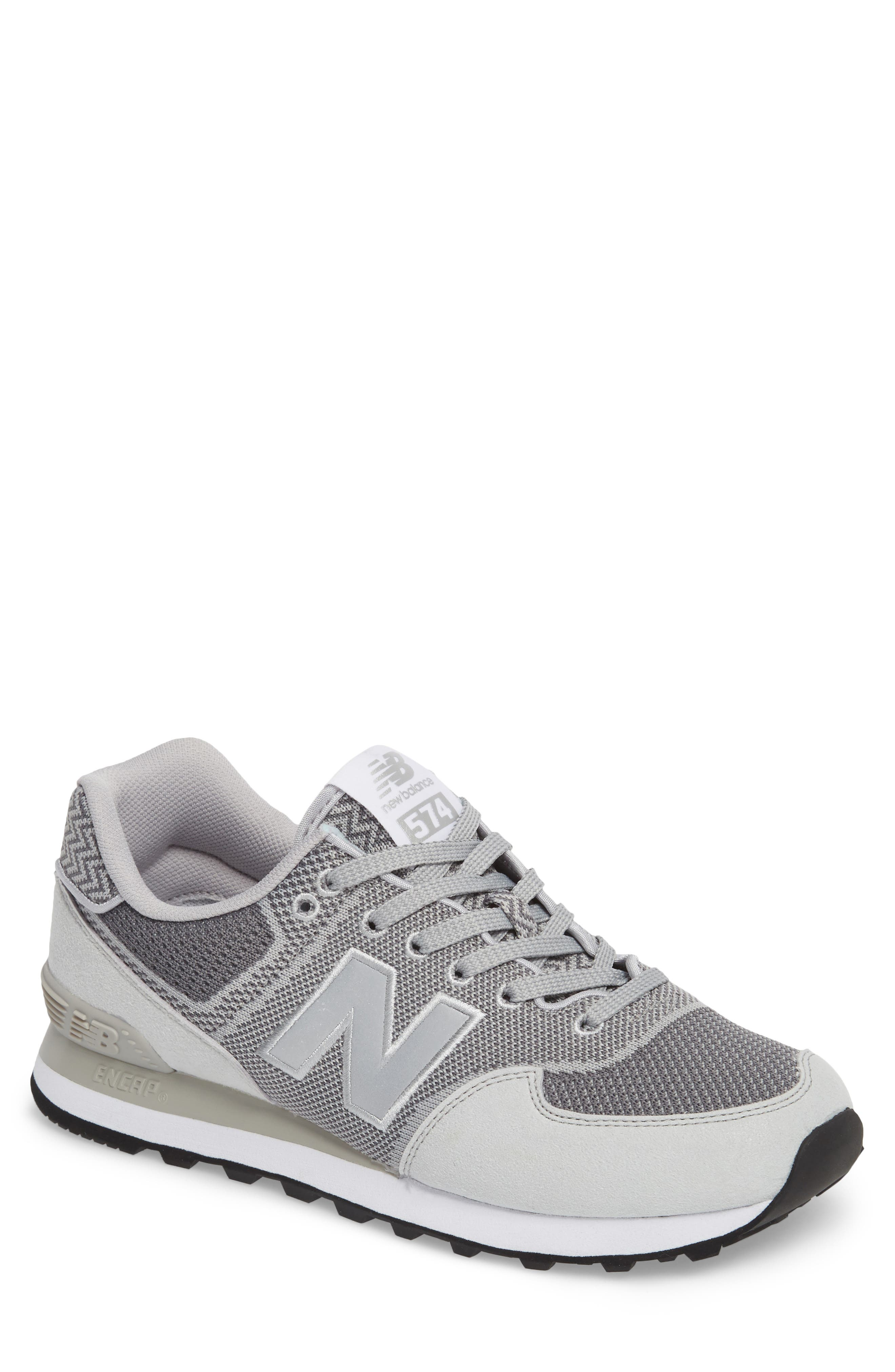 Engineered Mesh Sneaker,                         Main,                         color, Silver Mink