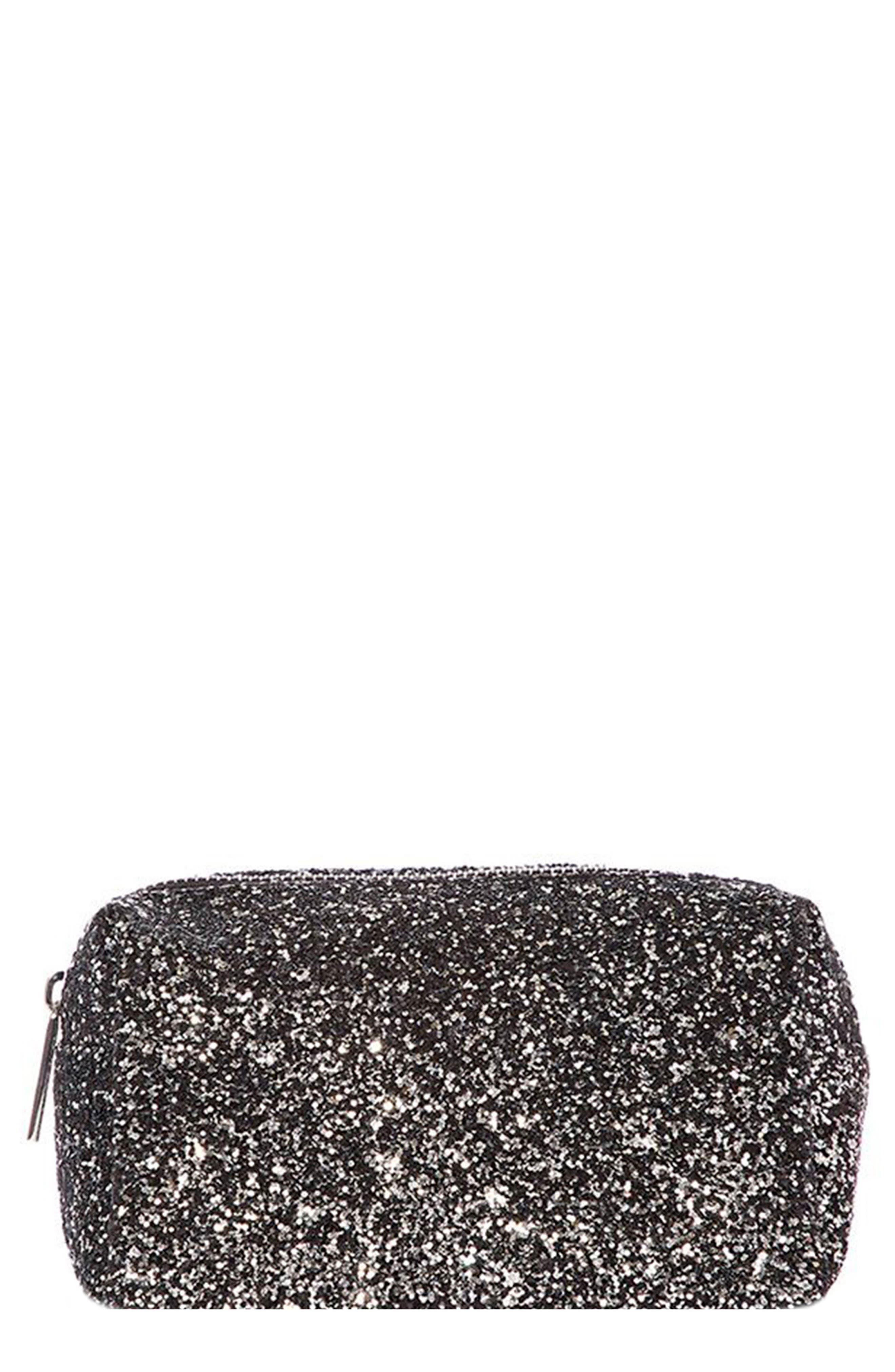 Skinny Dip Midnight Makeup Bag,                         Main,                         color, No Color