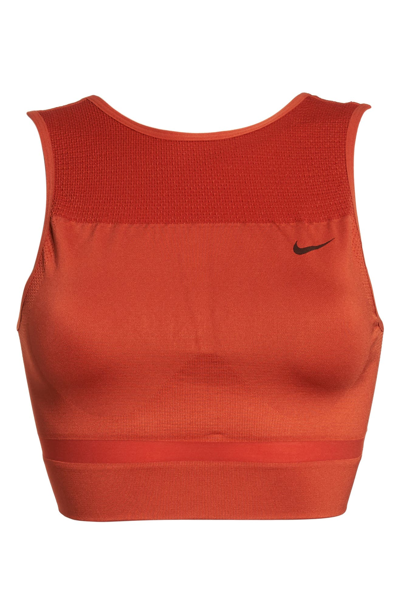 Dry U-Back Crop Training Tank,                             Alternate thumbnail 4, color,                             Red