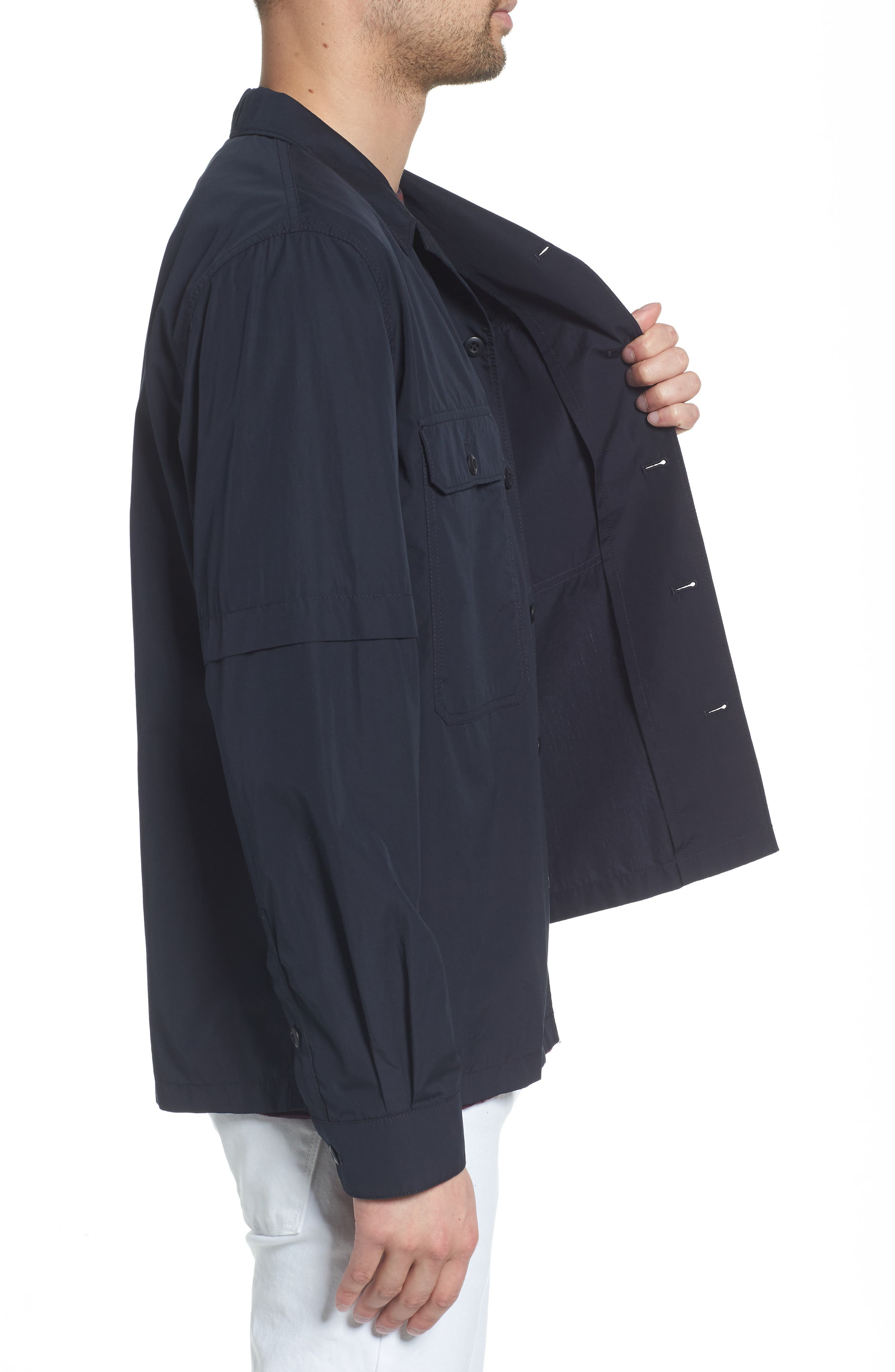 Regular Fit Shirt Jacket,                             Alternate thumbnail 3, color,                             New Coastal