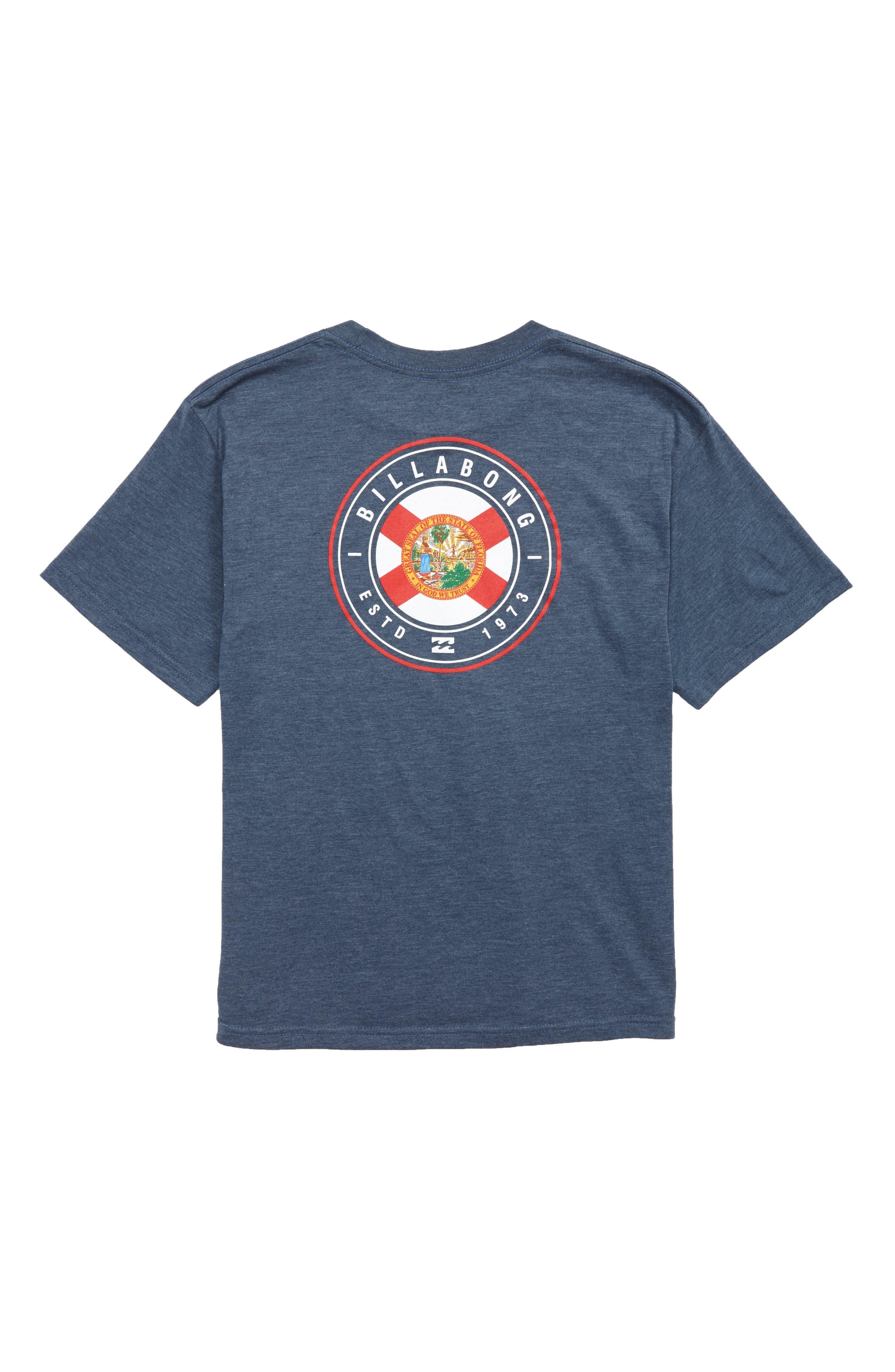 Native Rotor FL T-Shirt,                             Alternate thumbnail 2, color,                             Denim Heather