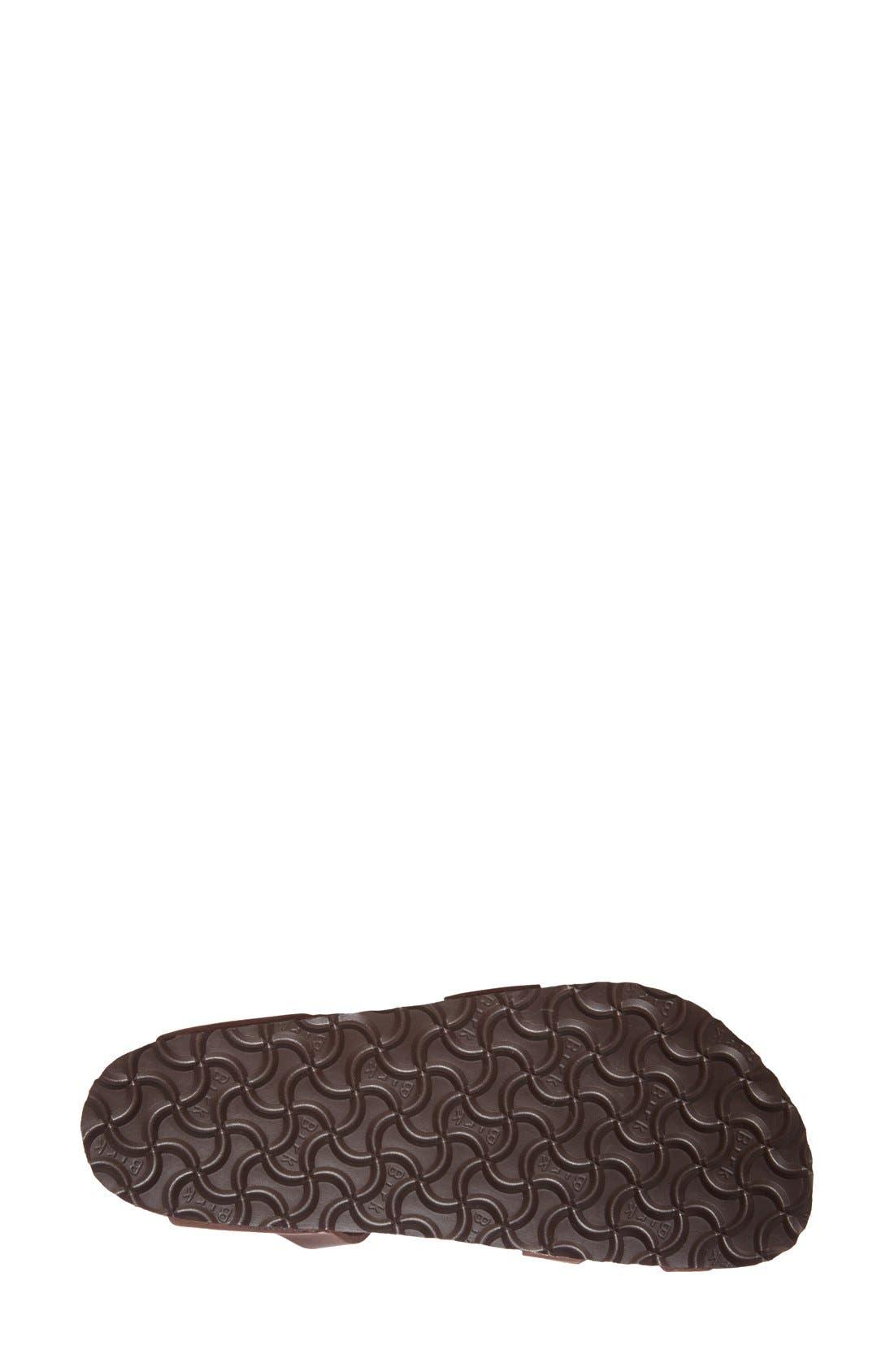 'Yara' Sandal,                             Alternate thumbnail 4, color,                             Yara Habana Oiled Leather