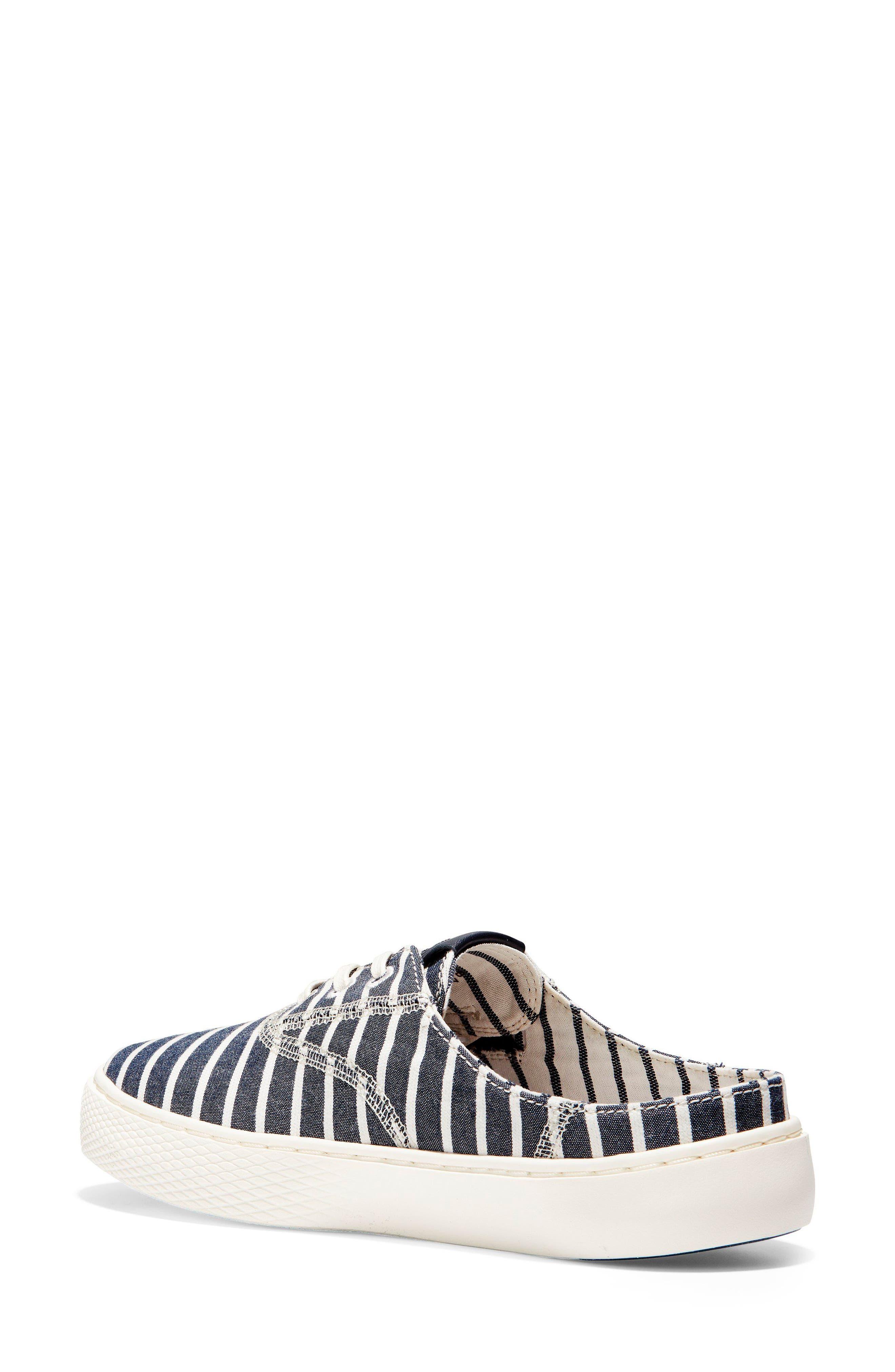 GrandPro Deck Sneaker,                             Alternate thumbnail 2, color,                             Freeport Stripe Fabric