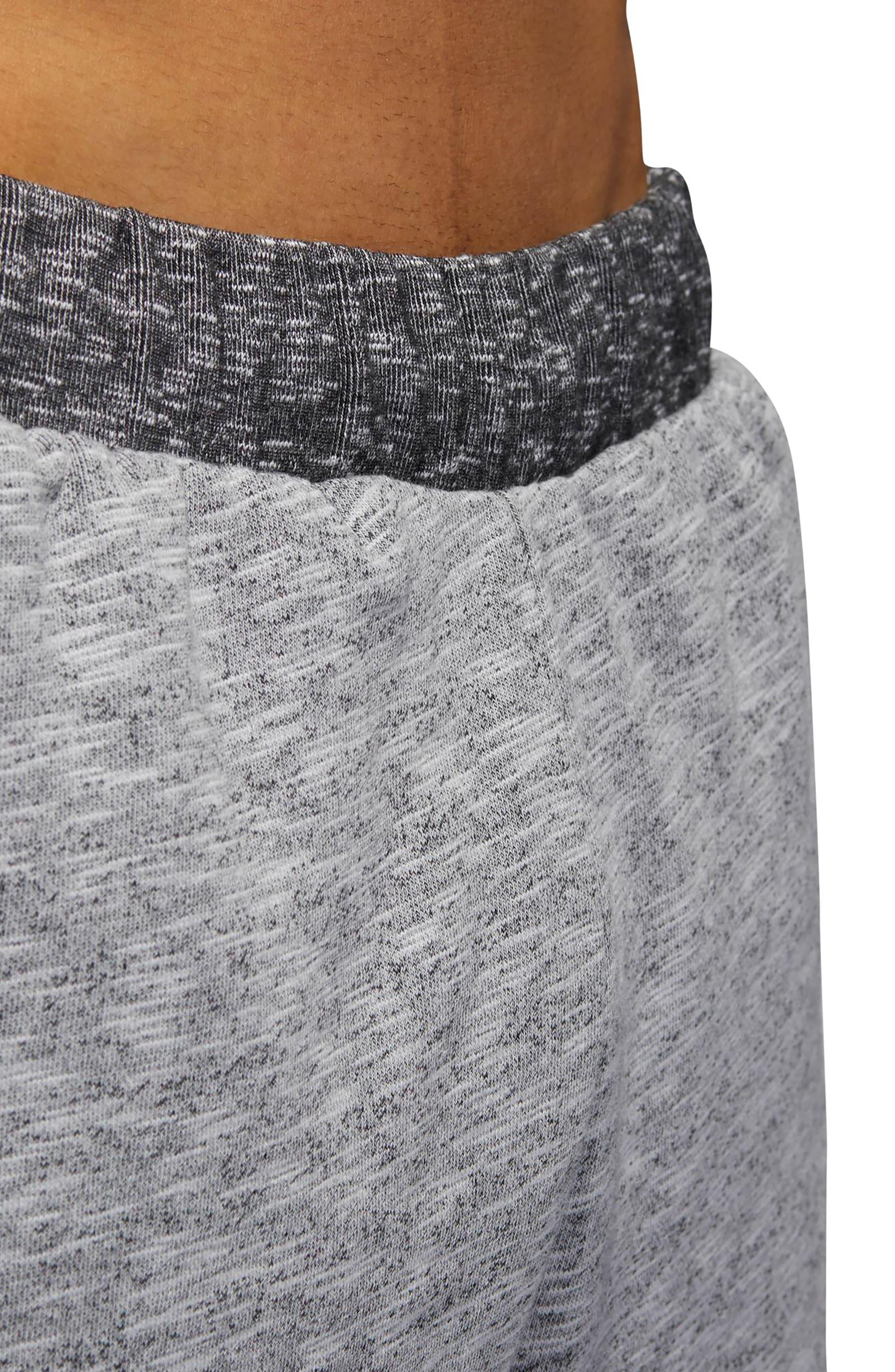 Pick Up Knit Shorts,                             Alternate thumbnail 6, color,                             Lgh Solid Grey