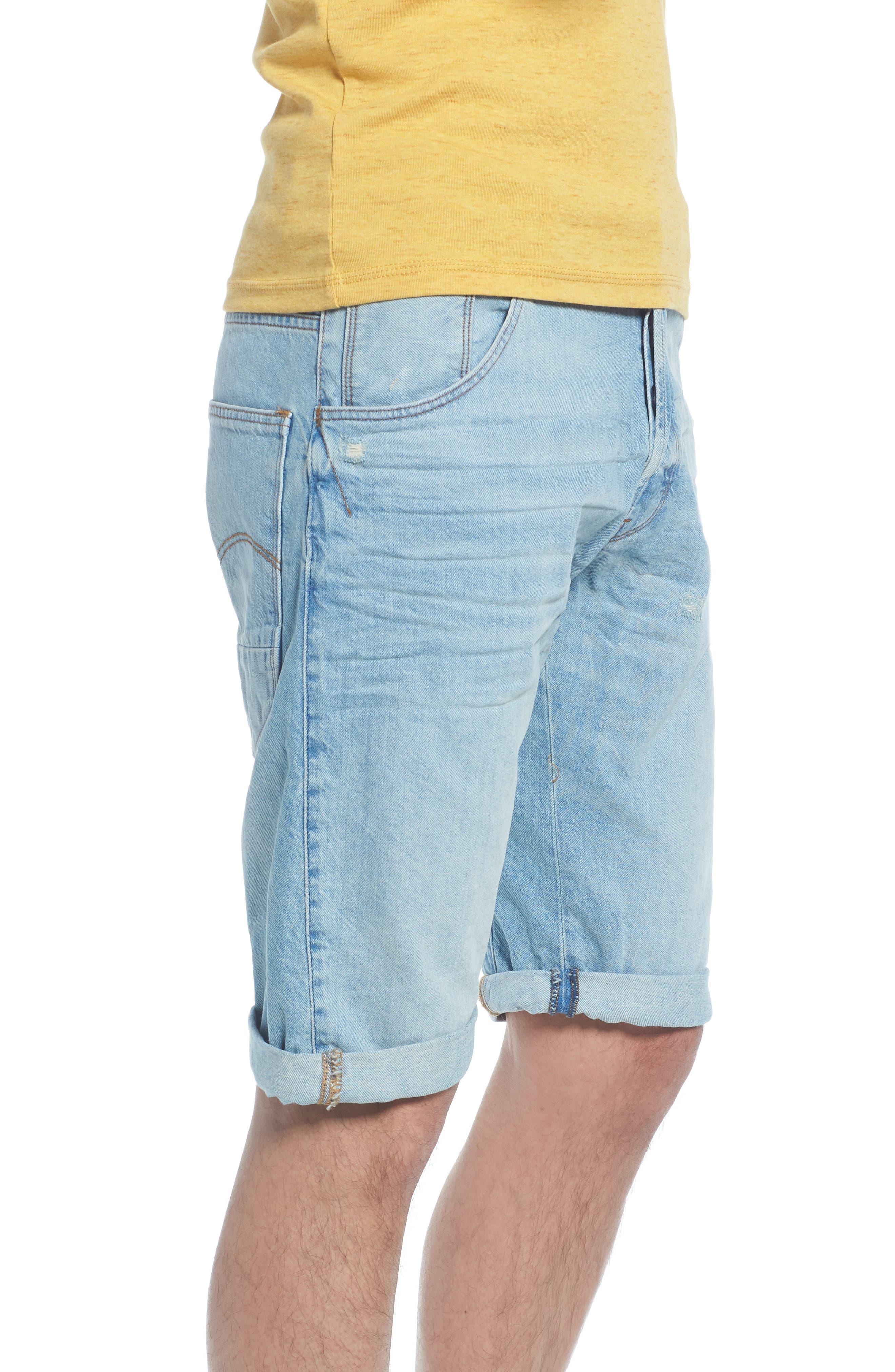 Arc 3D Shorts,                             Alternate thumbnail 3, color,                             Light Aged Blue