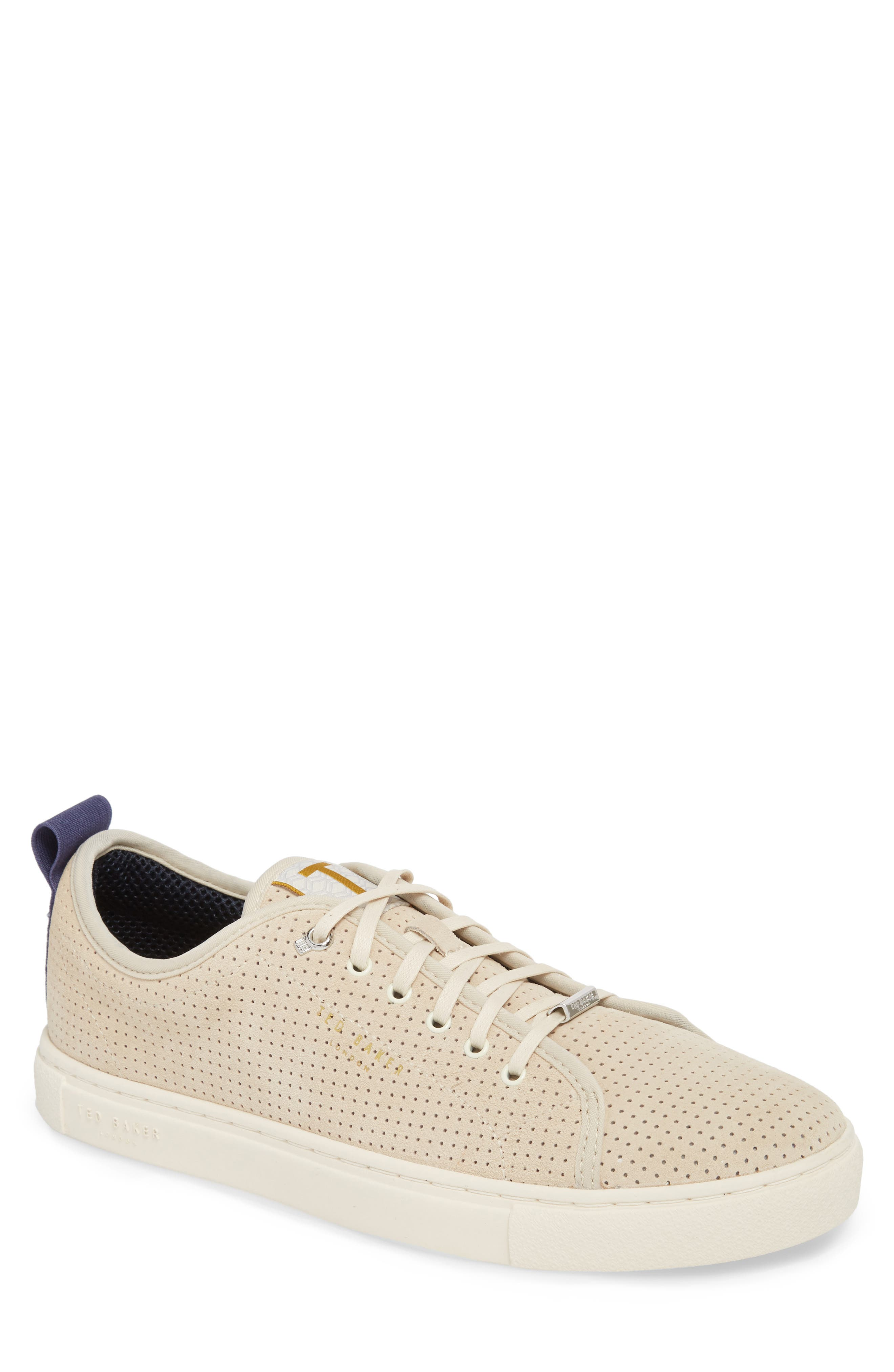 Ted Baker Men's Kaliix Perforated Low Top Sneaker qrcej9v17Q