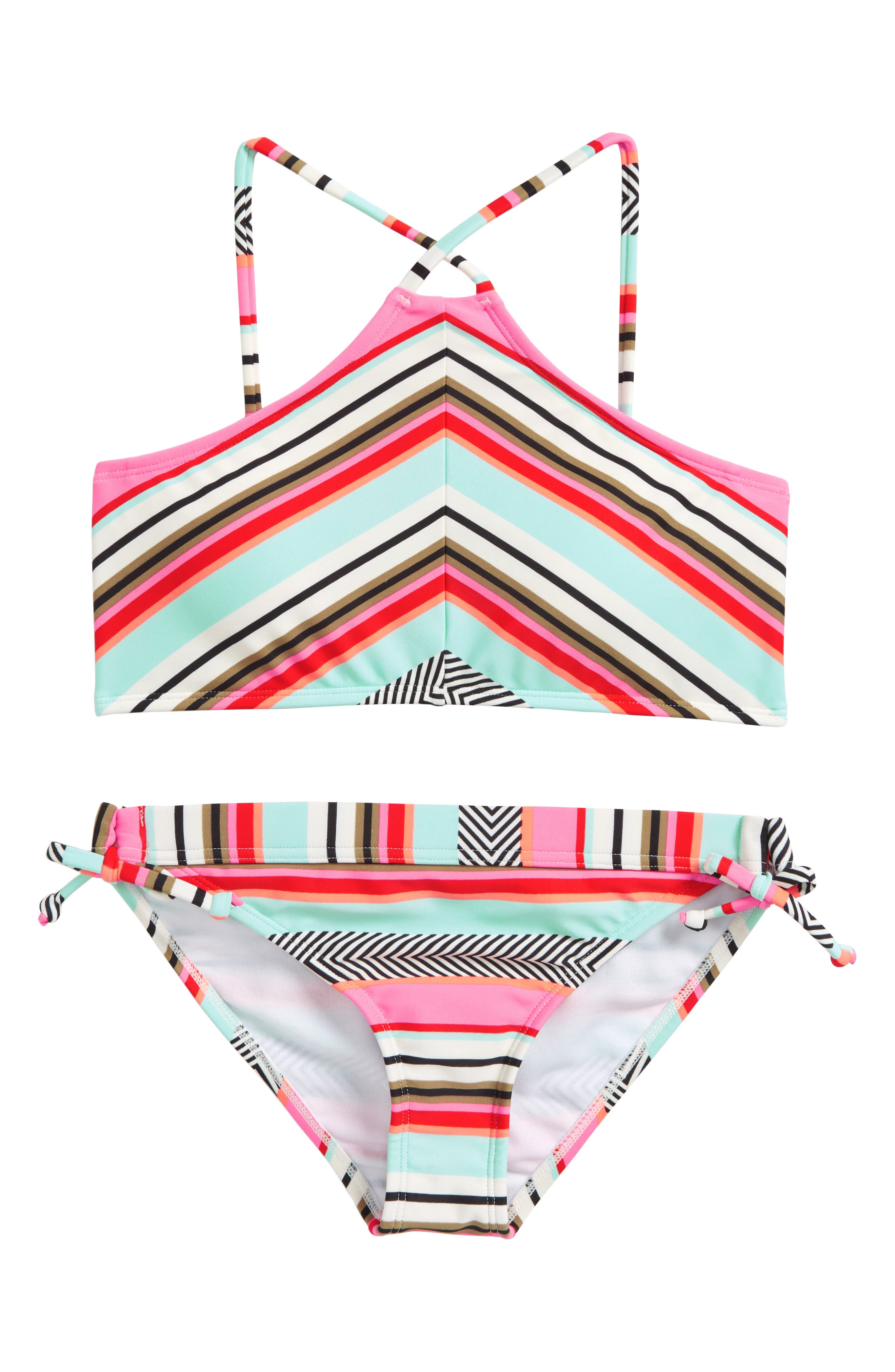 Like That Two-Piece Swimsuit,                         Main,                         color, Multi