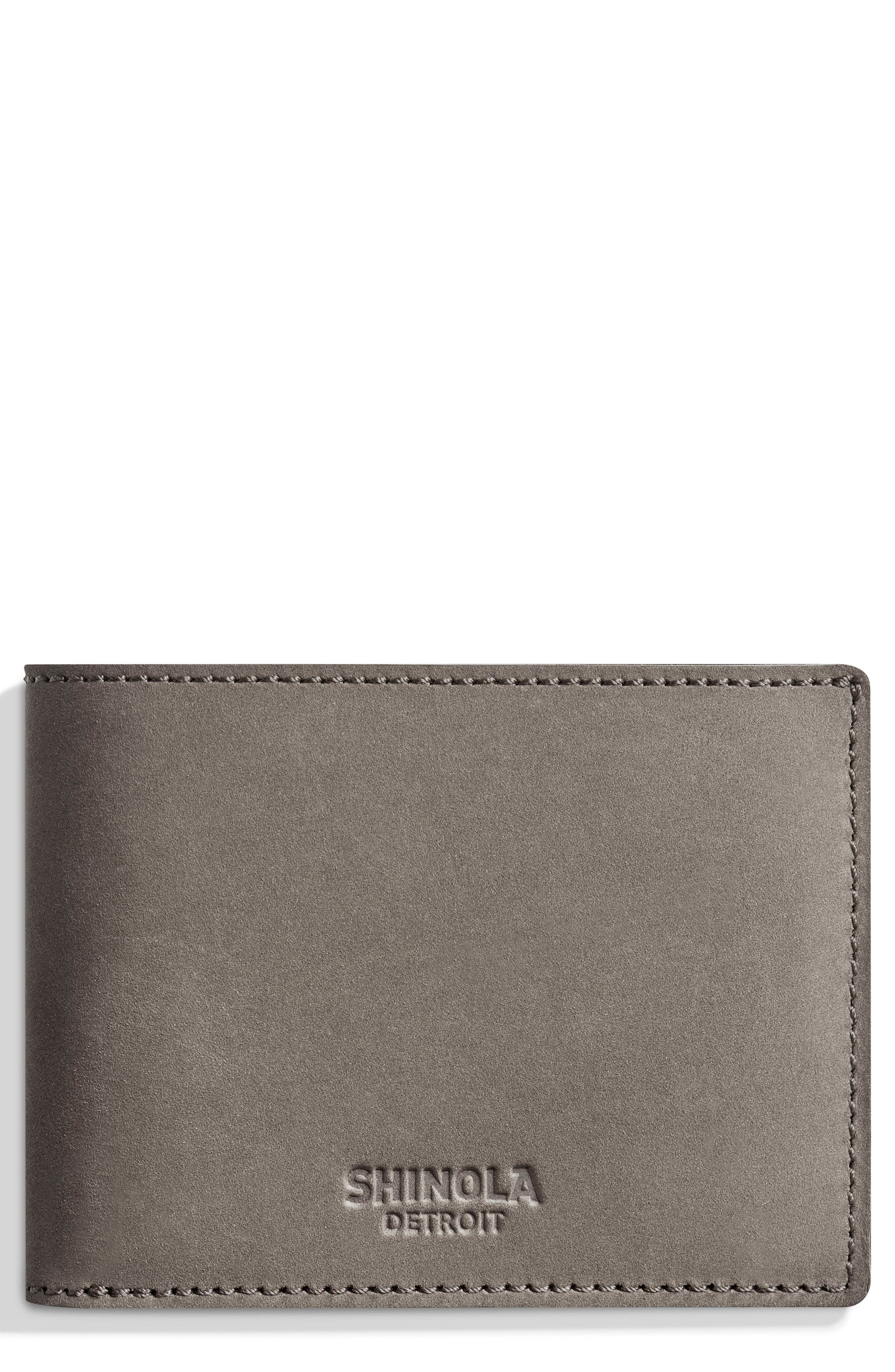 Shinola Outrigger Bifold Leather Wallet