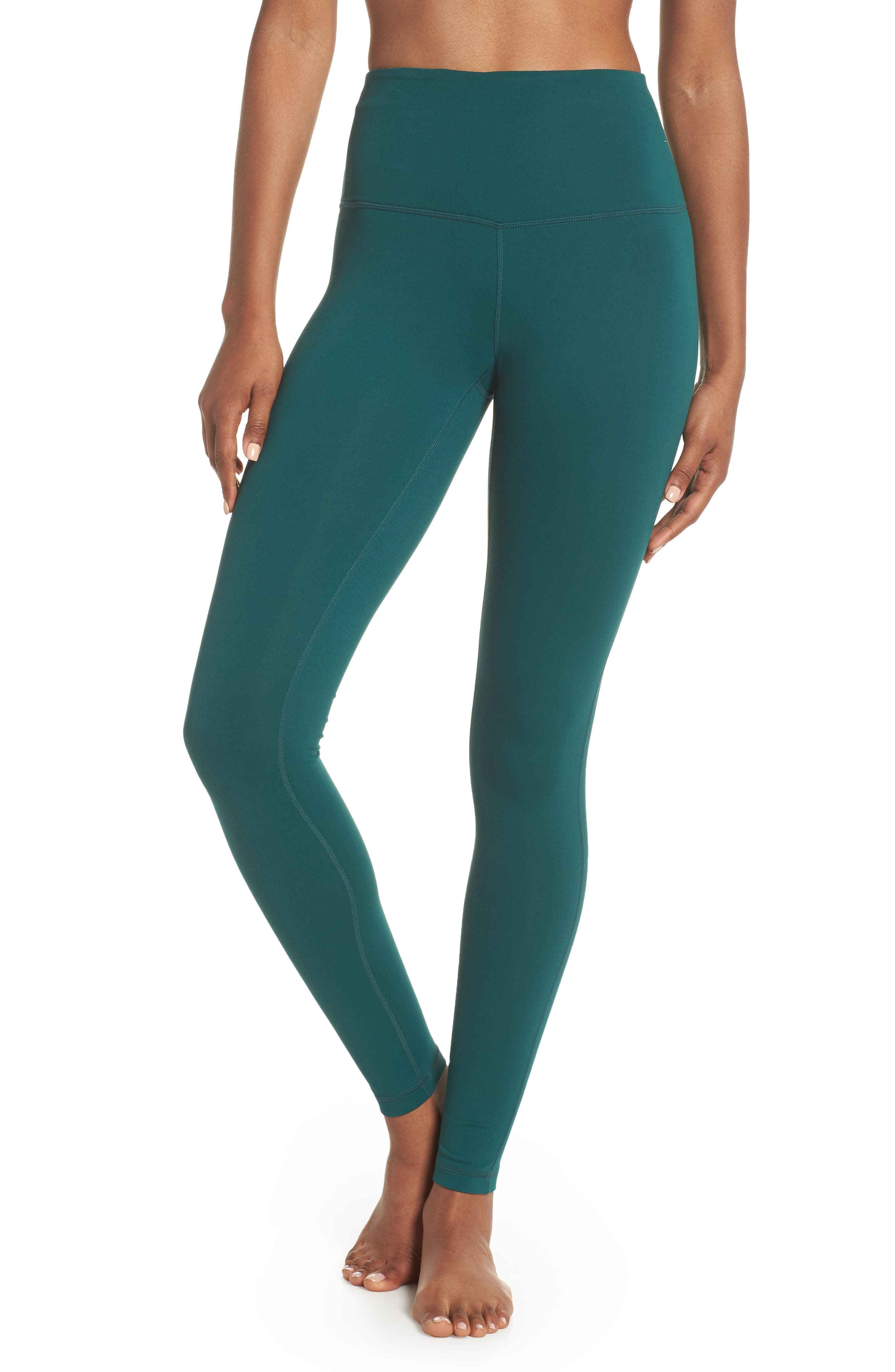 Live In High Waist Leggings,                         Main,                         color, Green Bug