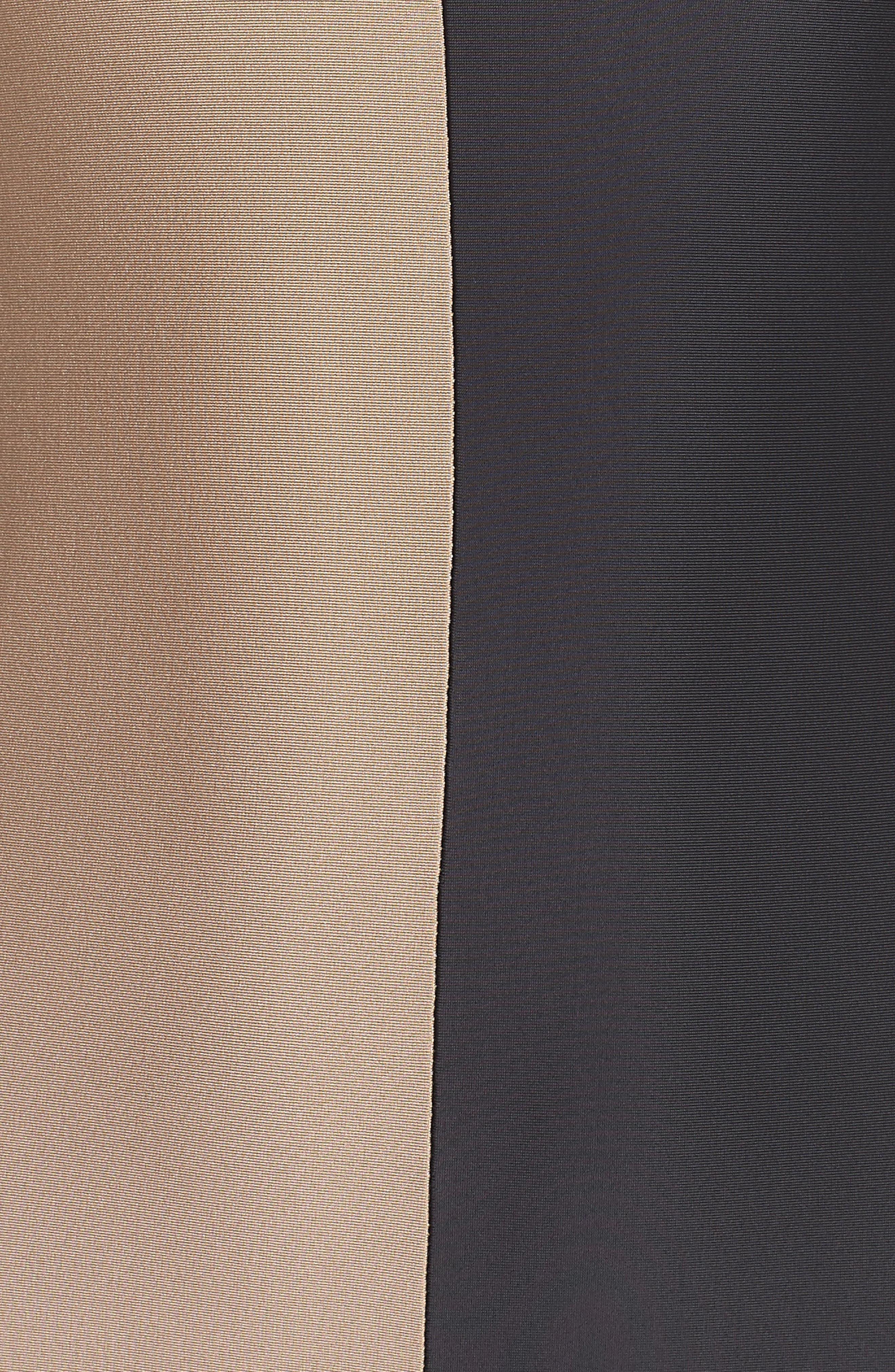 Farrah One-Piece Swimsuit,                             Alternate thumbnail 4, color,                             Cadillac