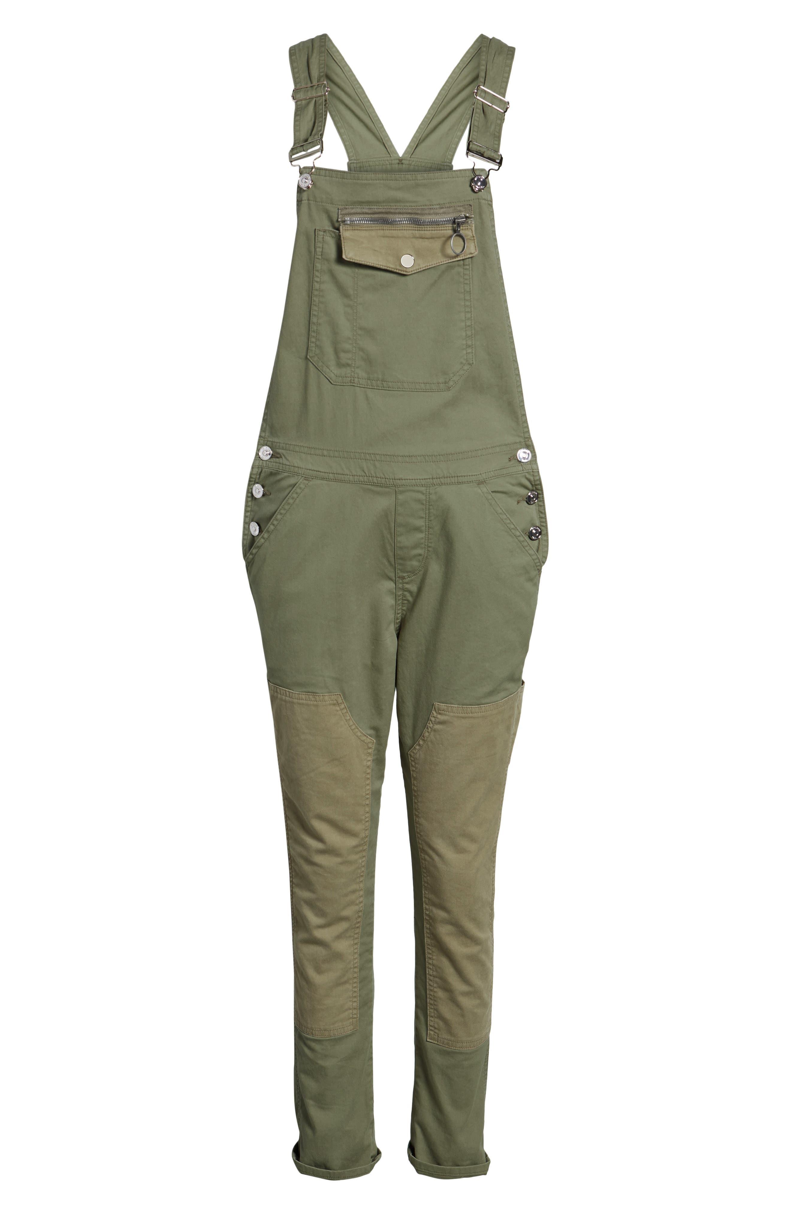 Alternate Image 6  - Hudson Jeans Workwear Overalls