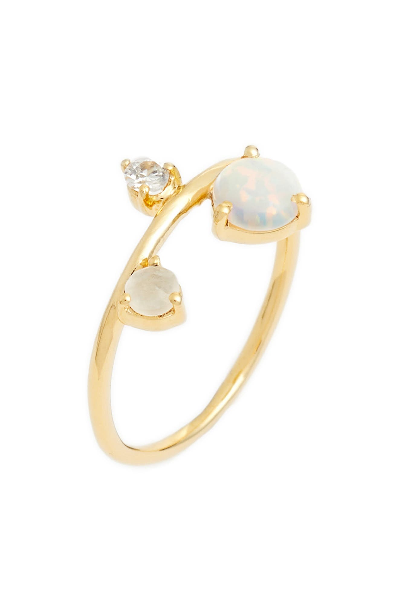 Sydney Multistone Ring,                         Main,                         color, Gold