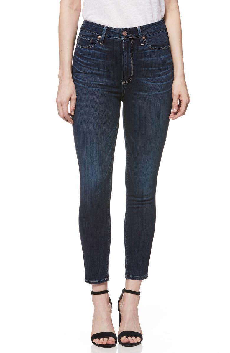 Transcend - Margot High Waist Crop Skinny Jeans