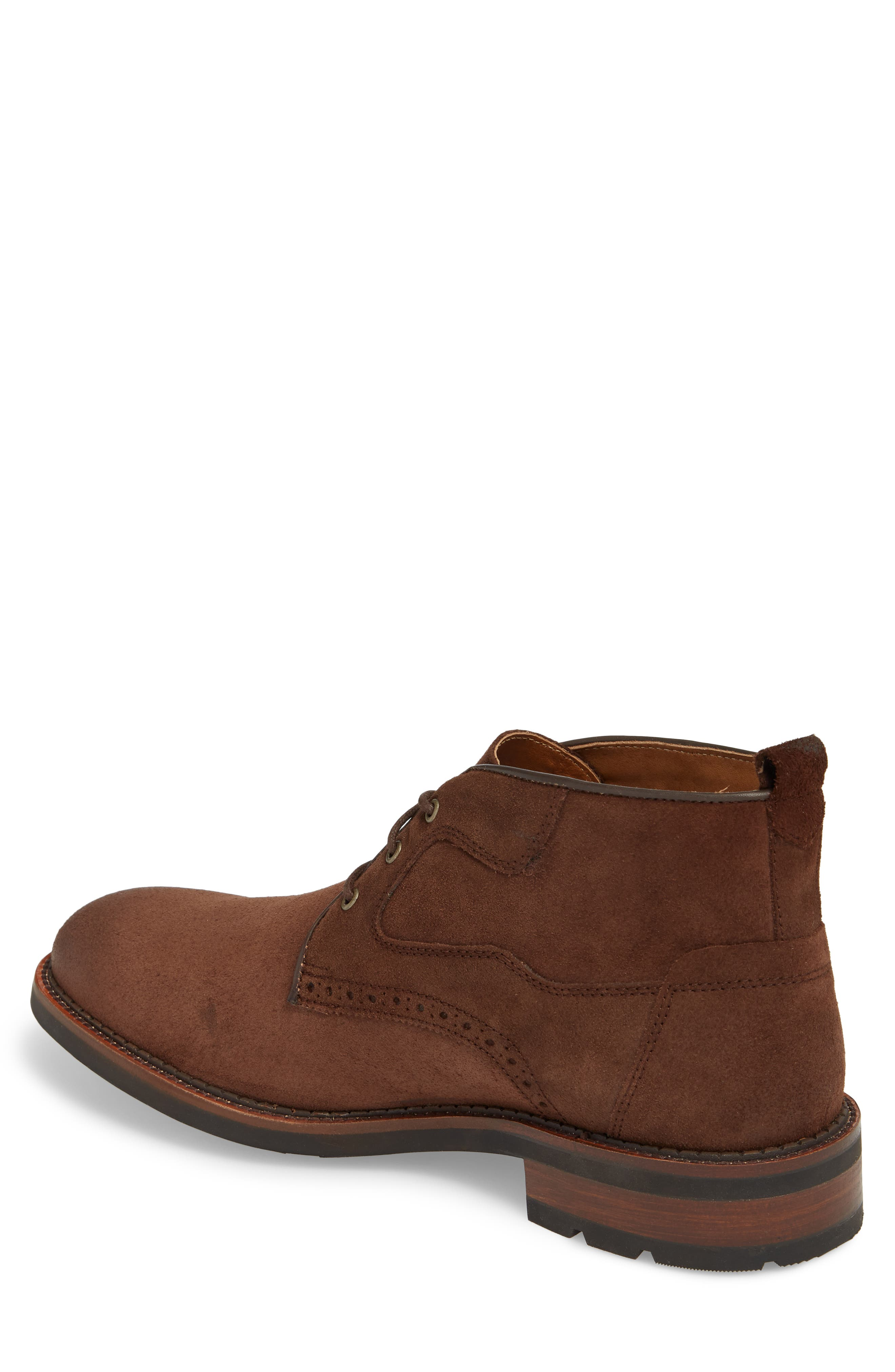 Fullerton Chukka Boot,                             Alternate thumbnail 2, color,                             Dark Brown