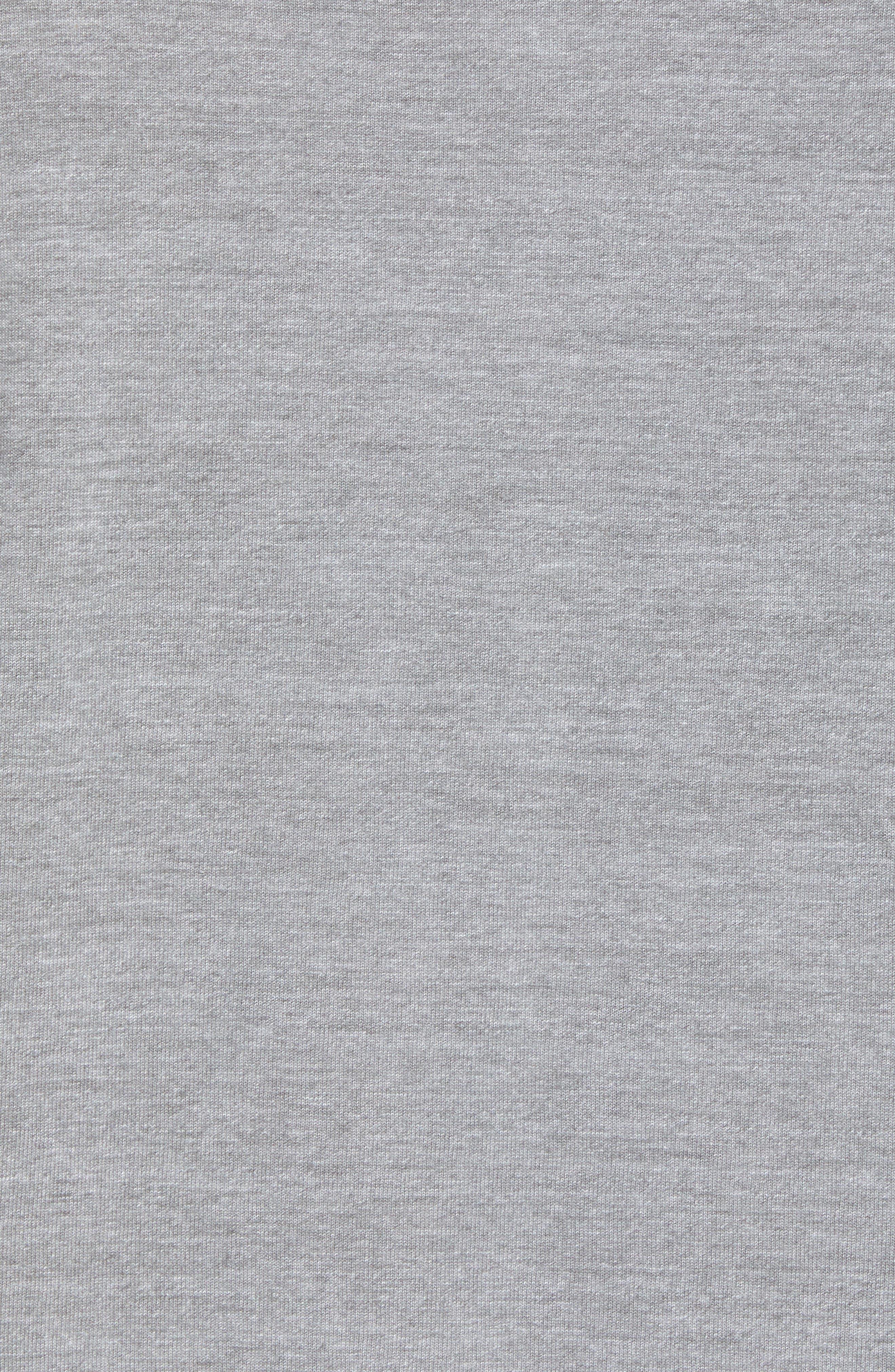 Americana Crewneck T-Shirt,                             Alternate thumbnail 5, color,                             Tnf Medium Grey Heather
