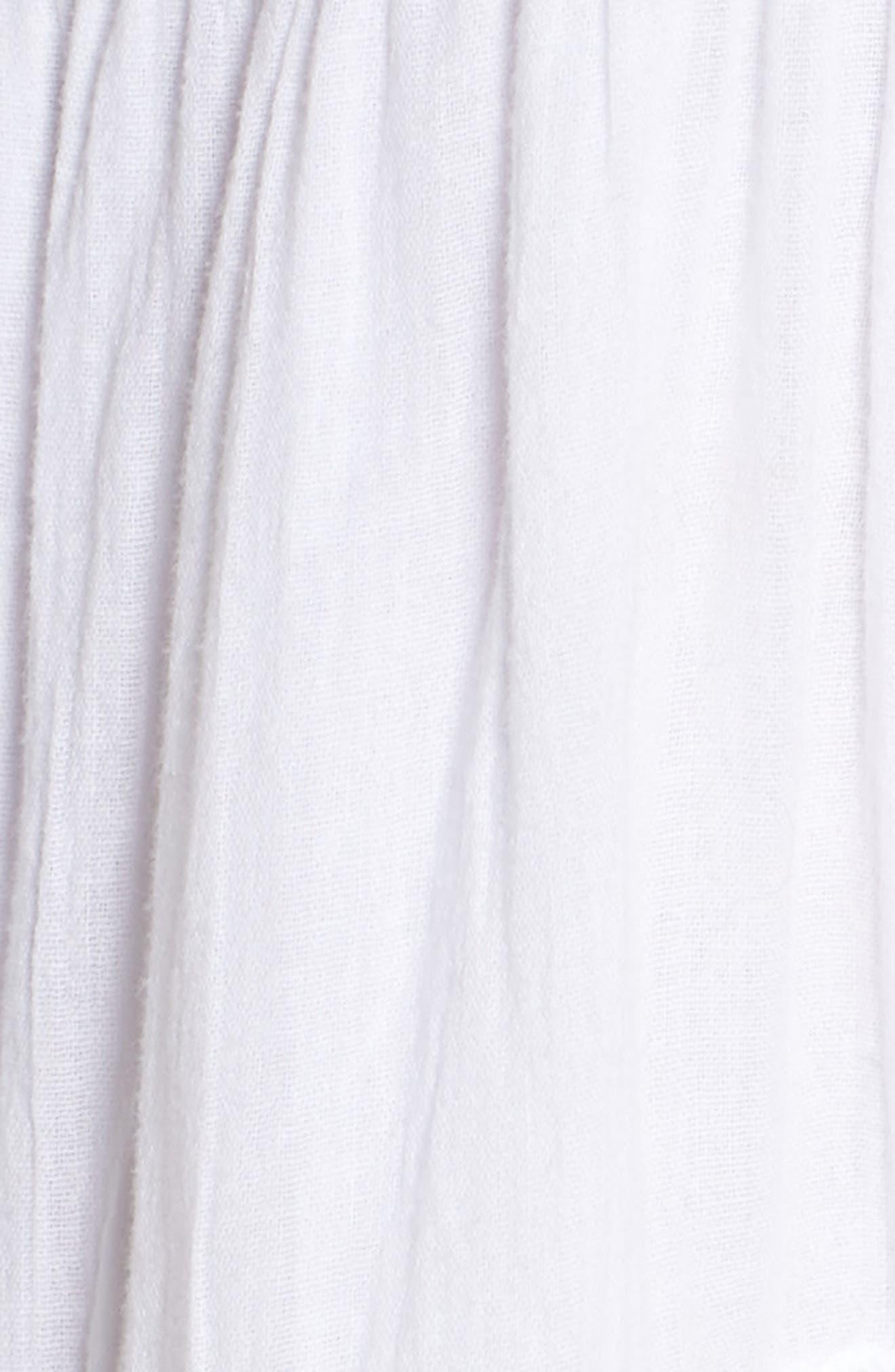 Silvanna Chemise,                             Alternate thumbnail 5, color,                             White