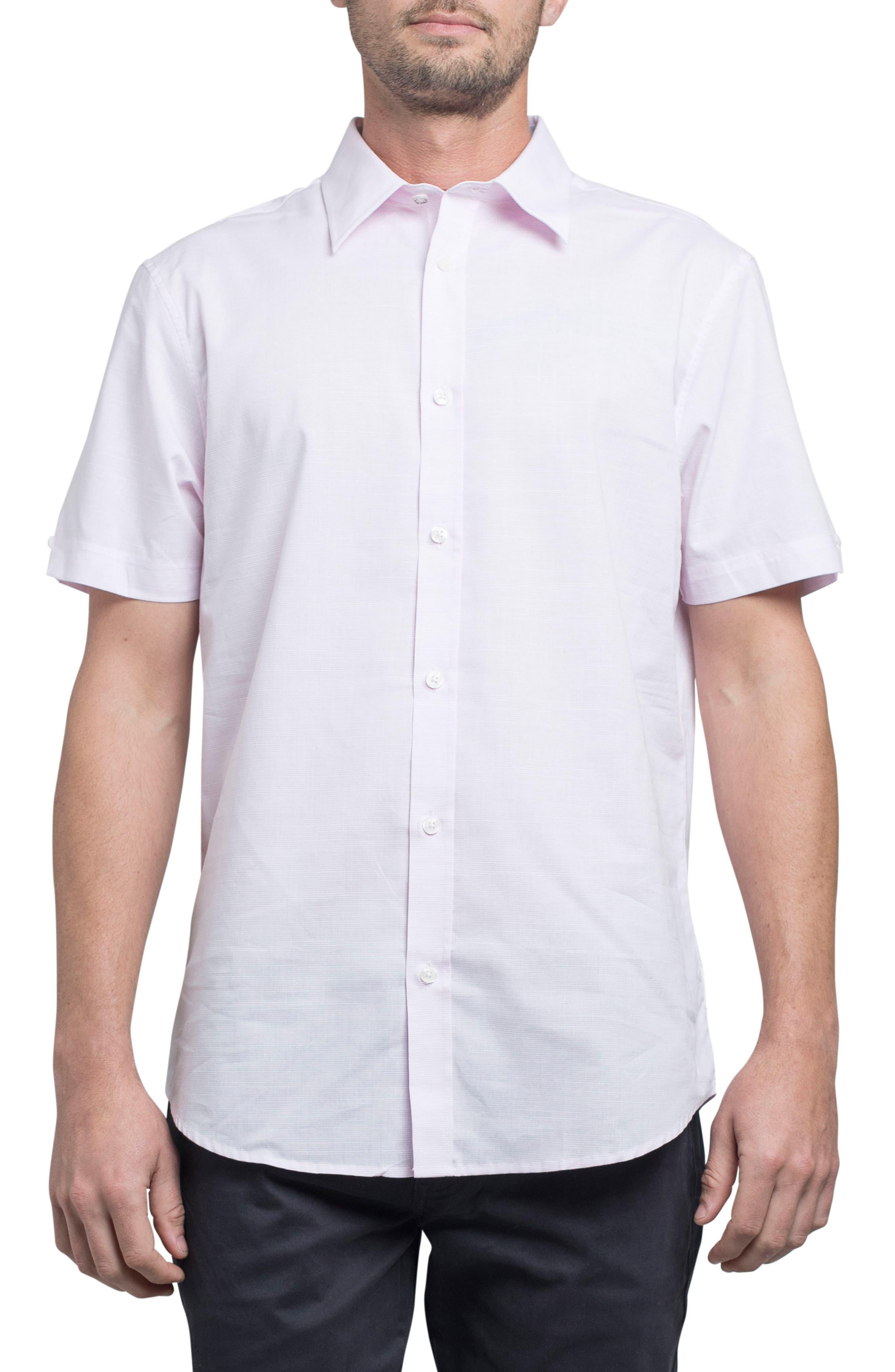 Ben Sherman Stretch Short Sleeve Sport Shirt