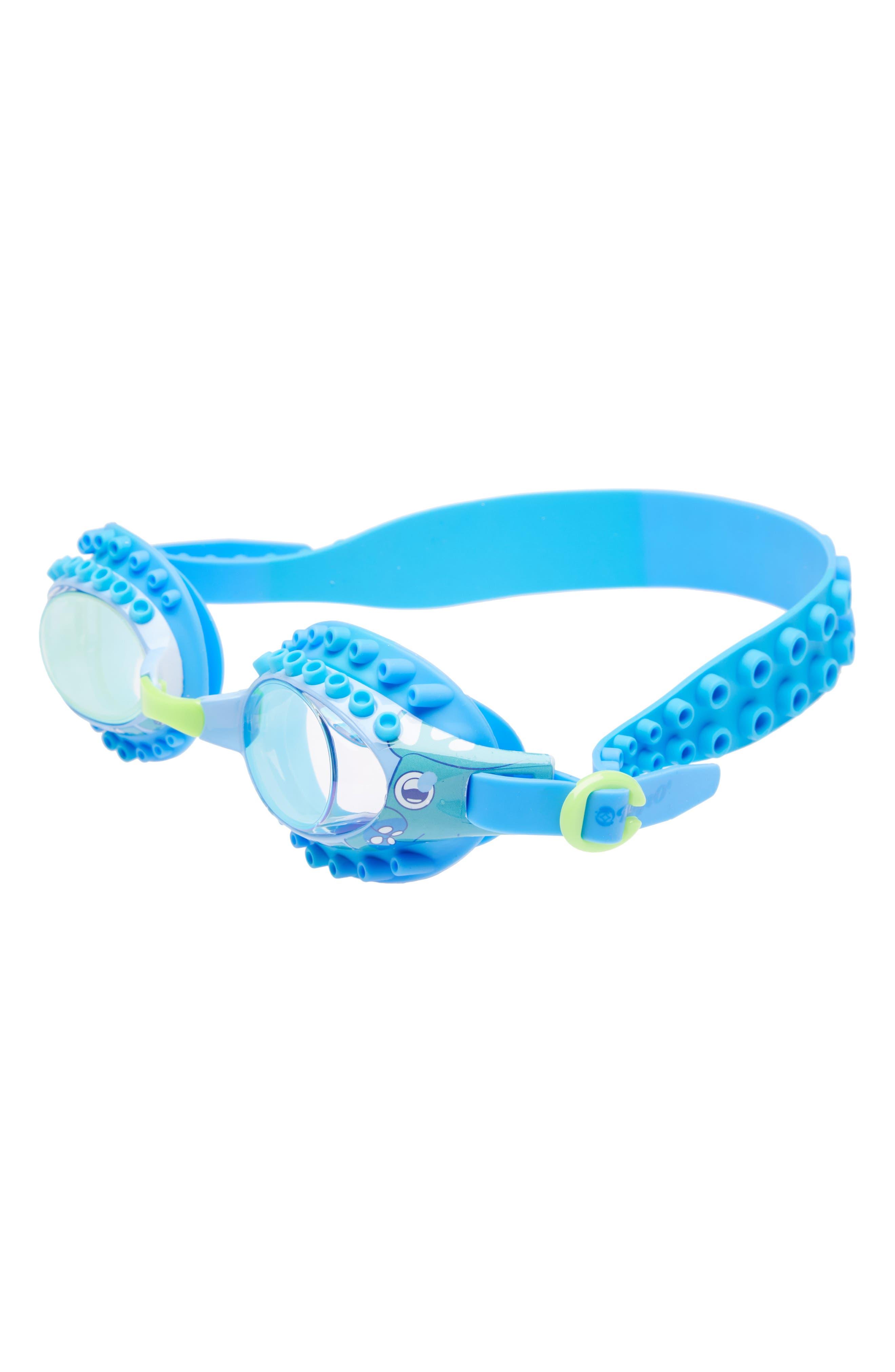 Octopus Swim Goggles,                         Main,                         color, Blue