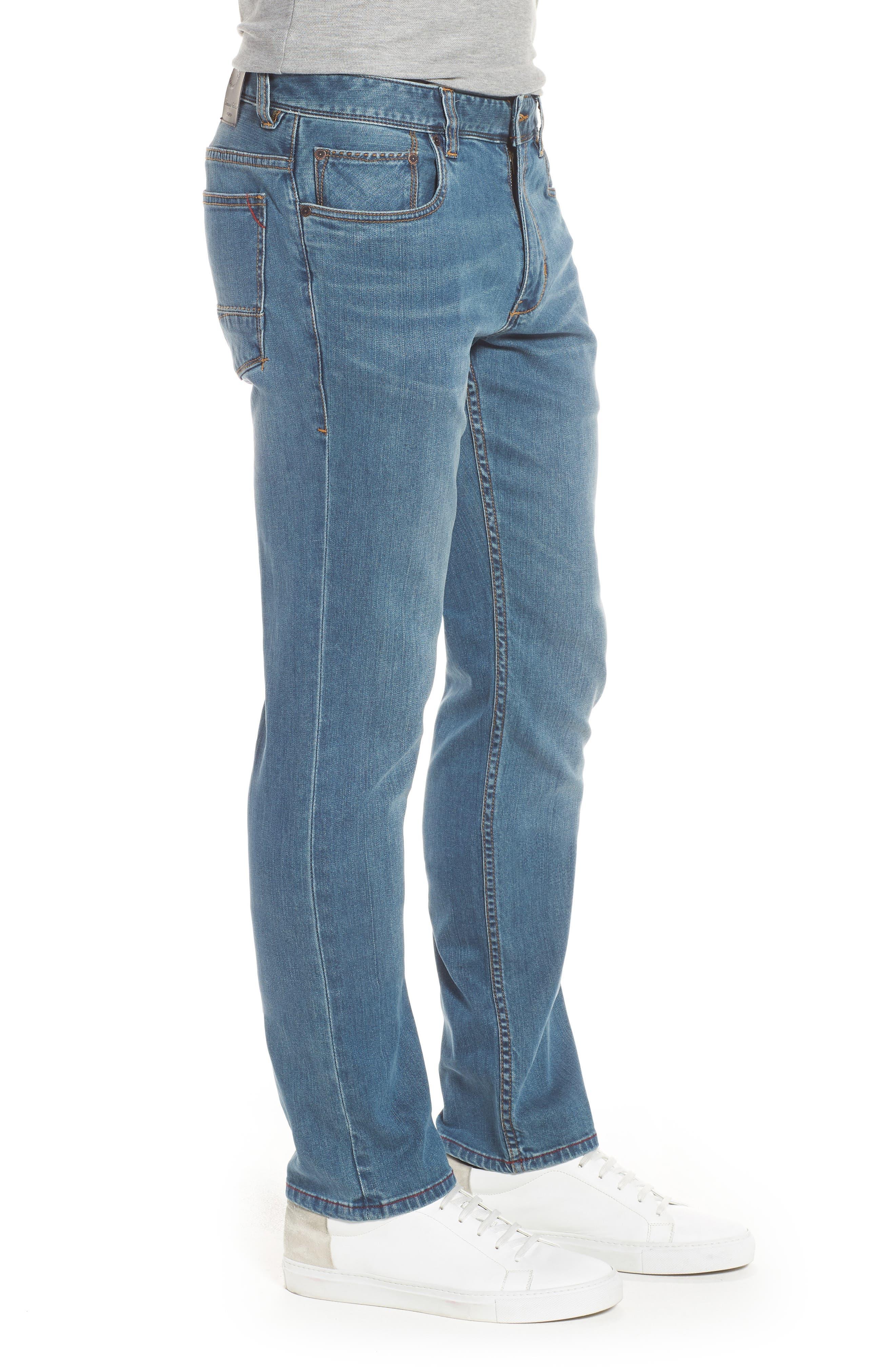 Vintage Fit Jeans,                             Alternate thumbnail 3, color,                             Vintage Wash