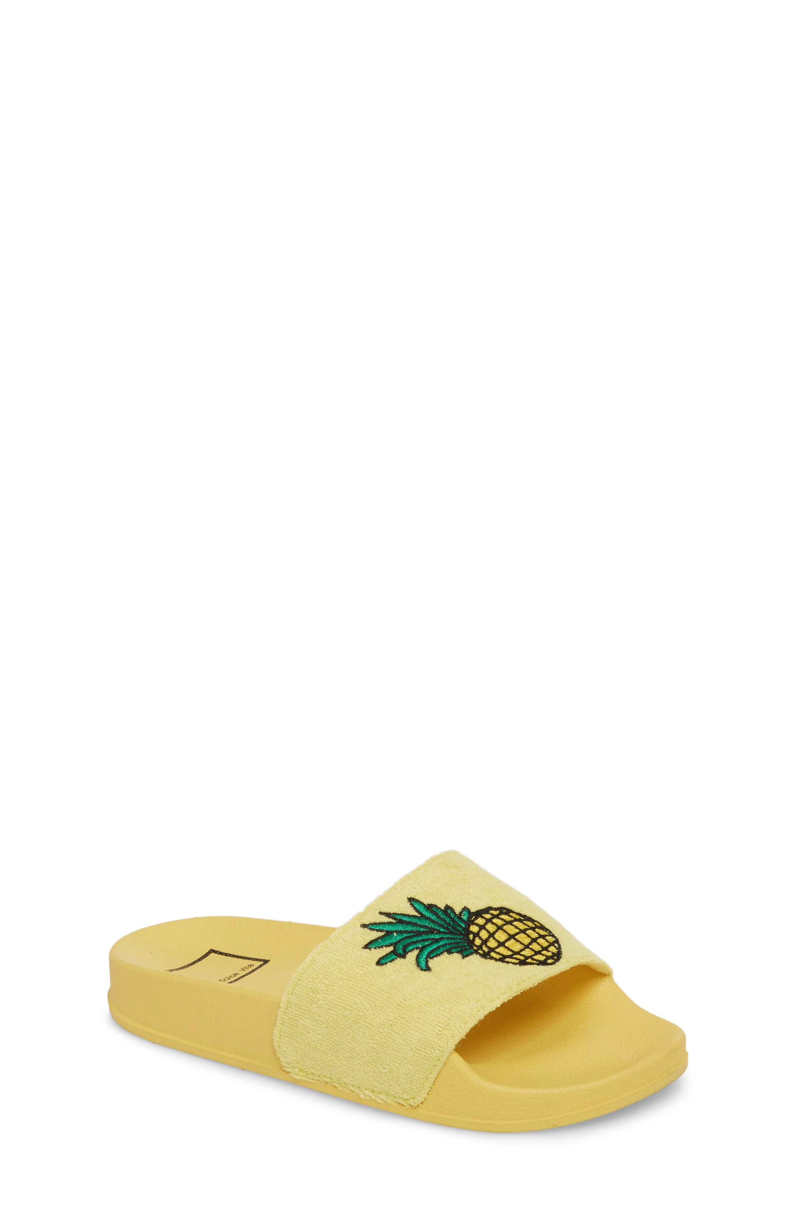Dolce Vita Selby Fruit Embroidered Sport Slide (Toddler, Little Kid & Big Kid)
