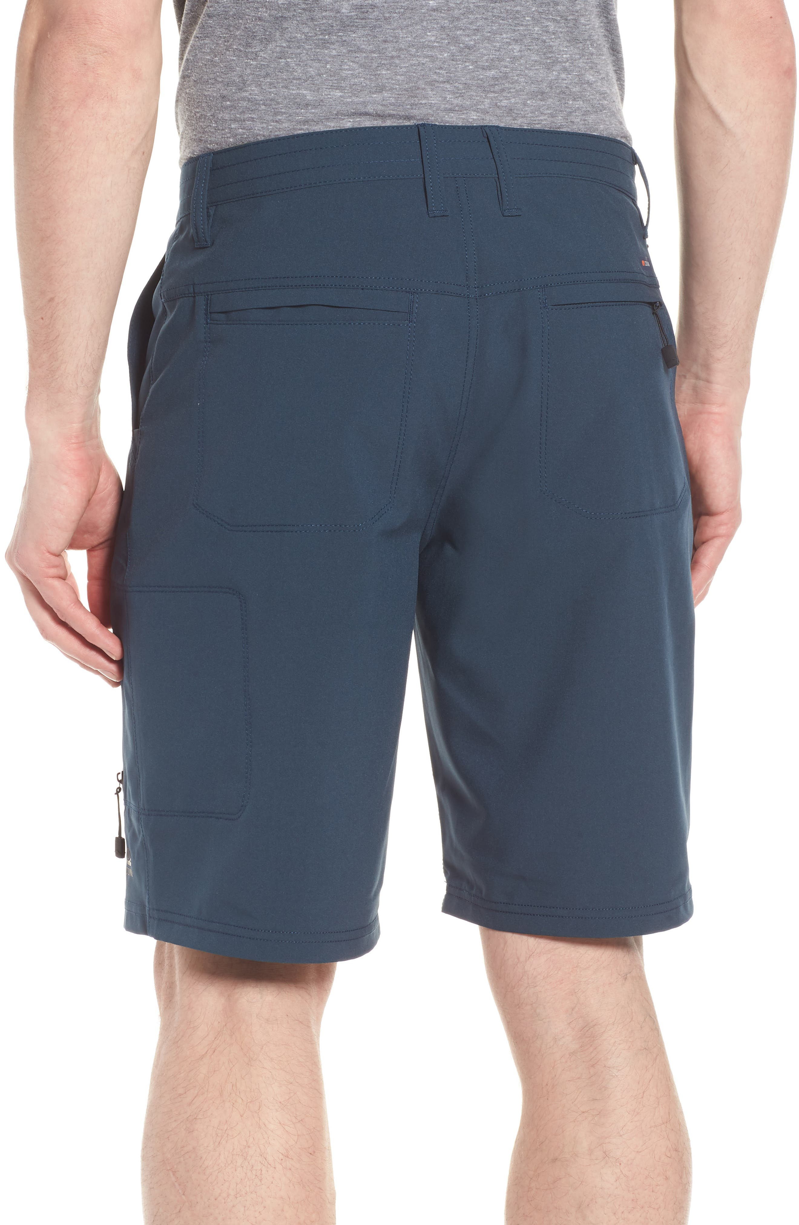 Pipeline Hybrid Shorts,                             Alternate thumbnail 2, color,                             Lake Blue