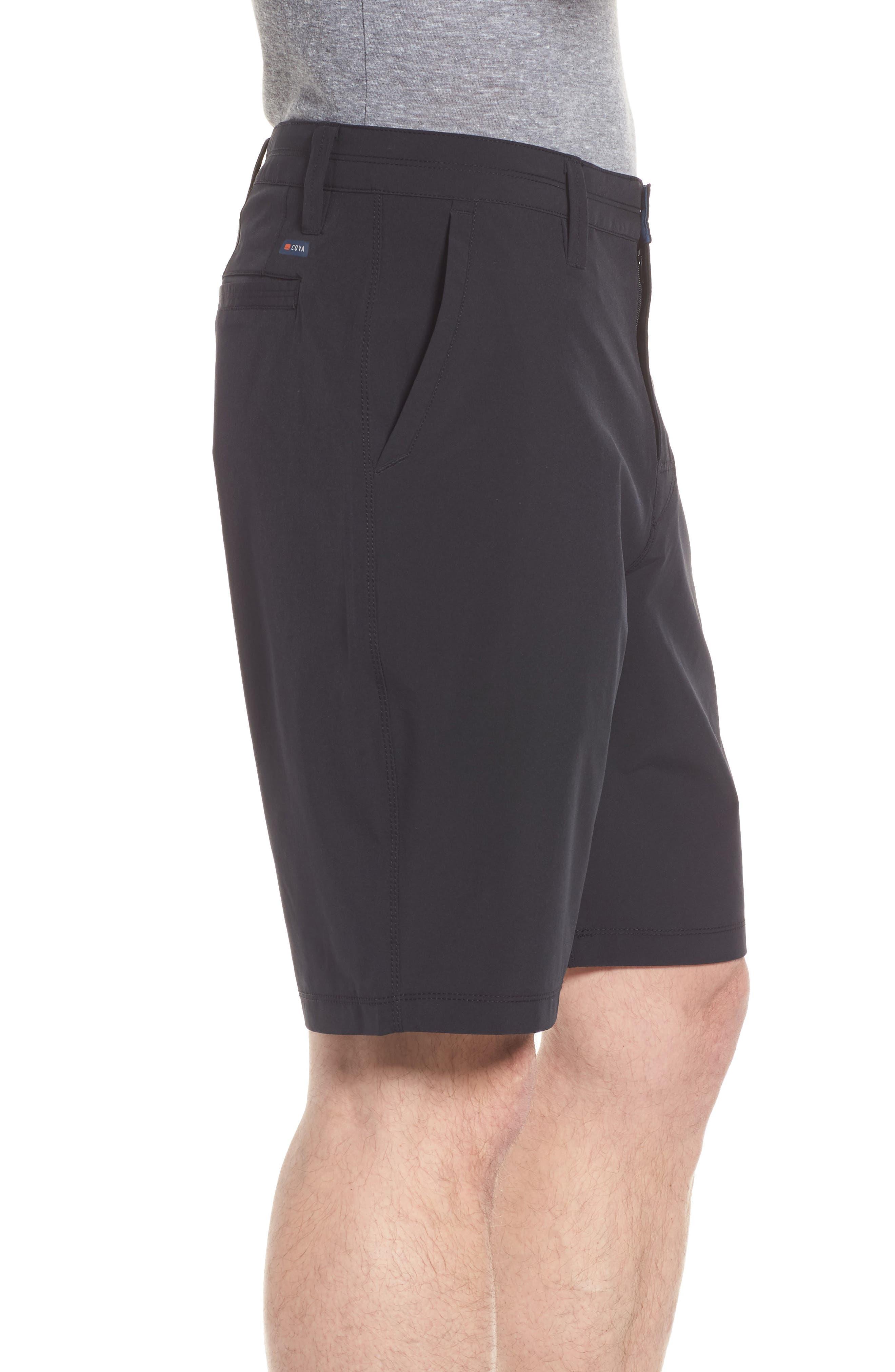 Coast Hybrid Shorts,                             Alternate thumbnail 3, color,                             Charcoal
