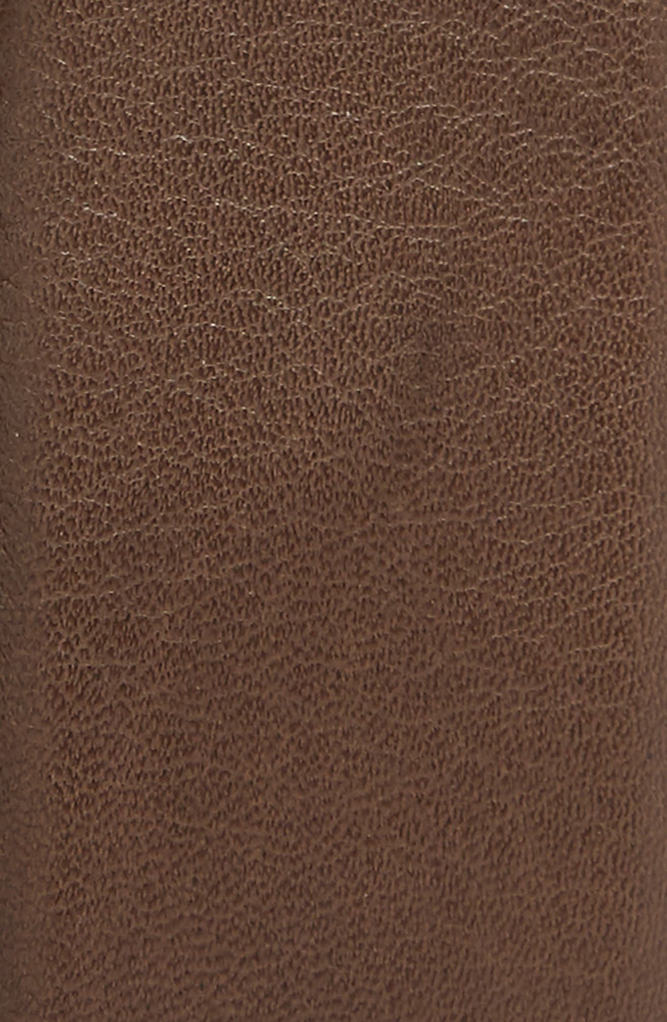 Alternate Image 2  - Salvatore Ferragamo Gancio Leaf Buckle Leather Belt