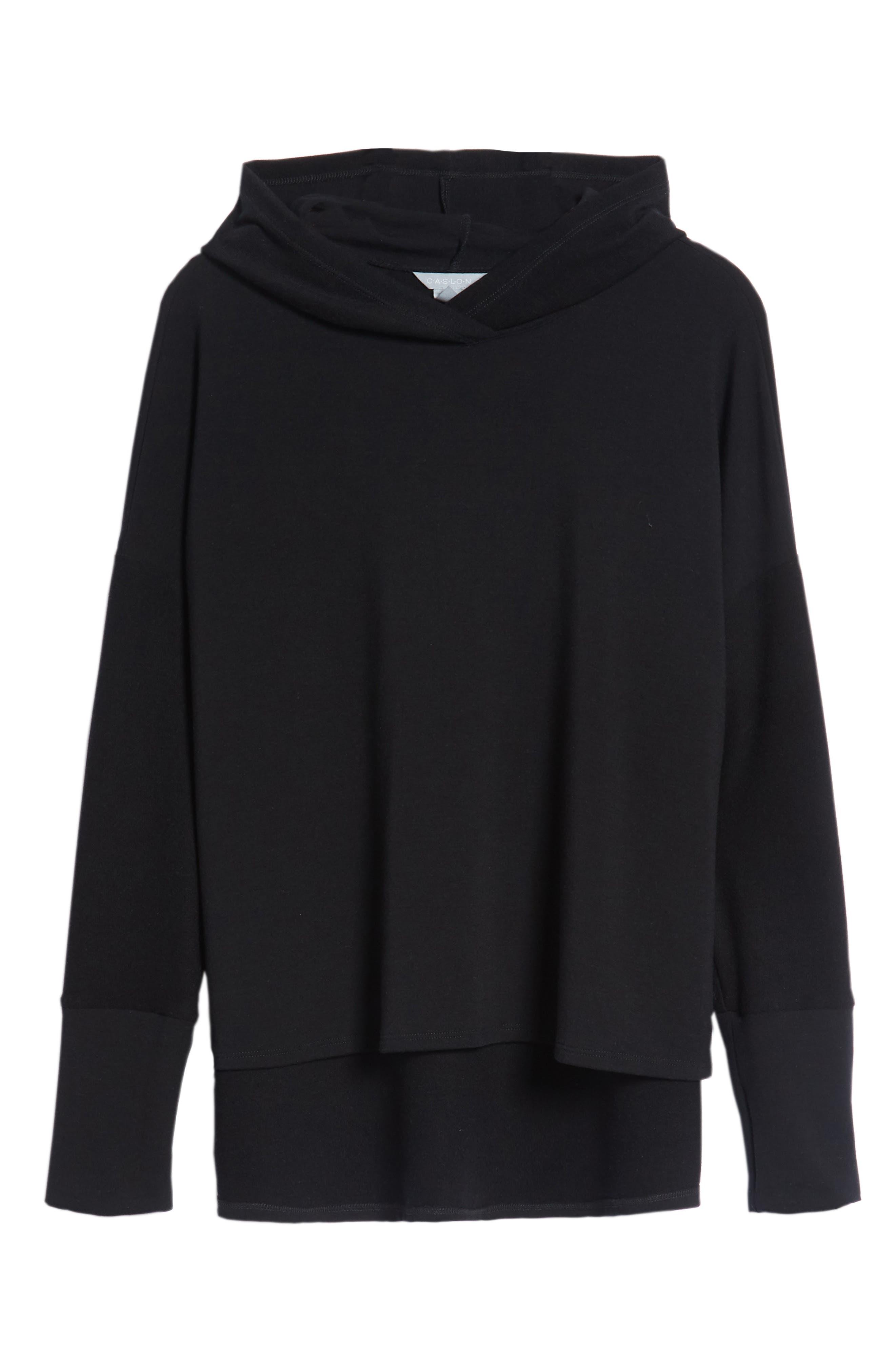 Off-Duty Hooded Sweatshirt,                             Alternate thumbnail 6, color,                             Black