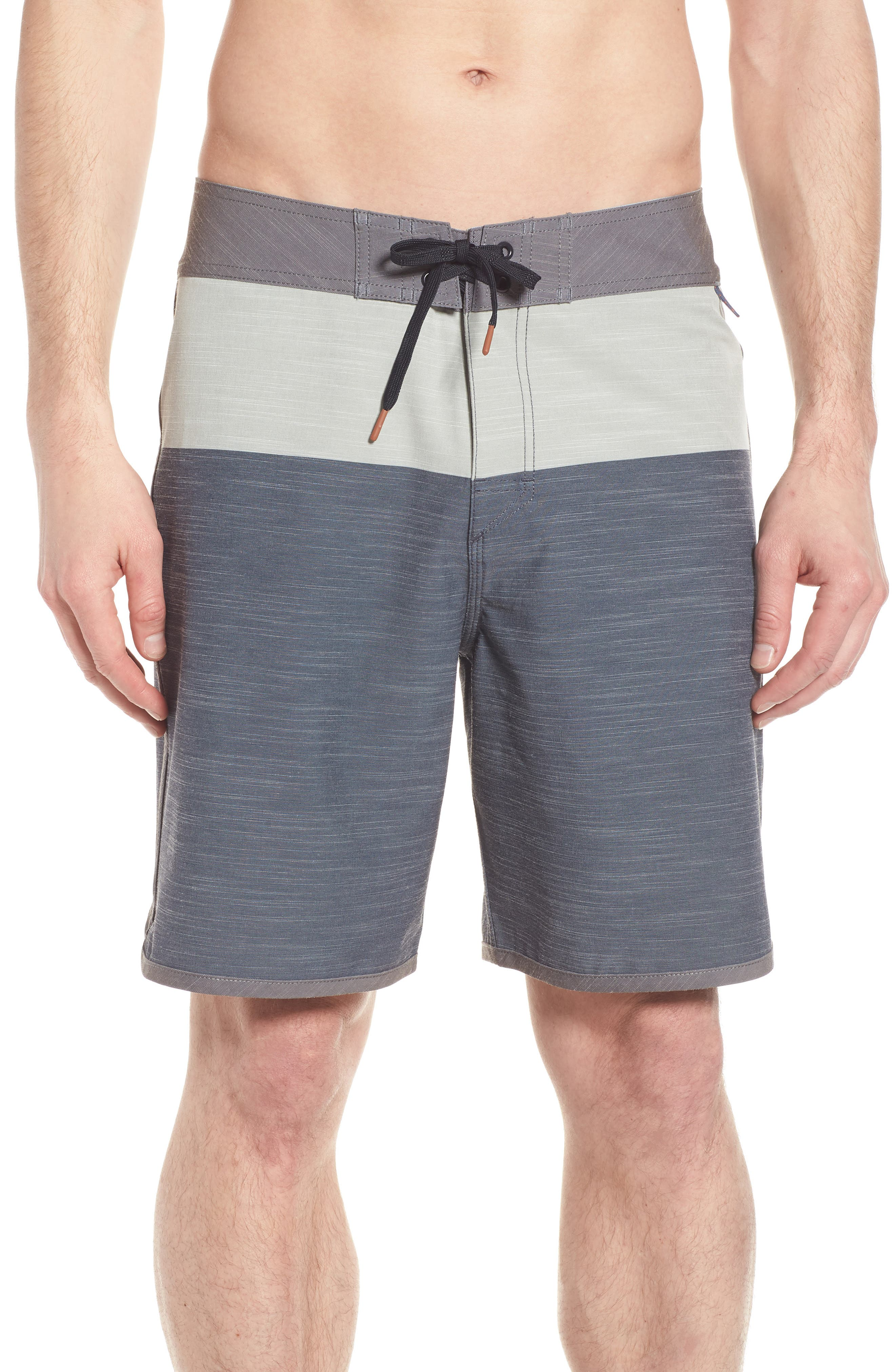 Beachcomber Board Shorts,                         Main,                         color, Charcoal