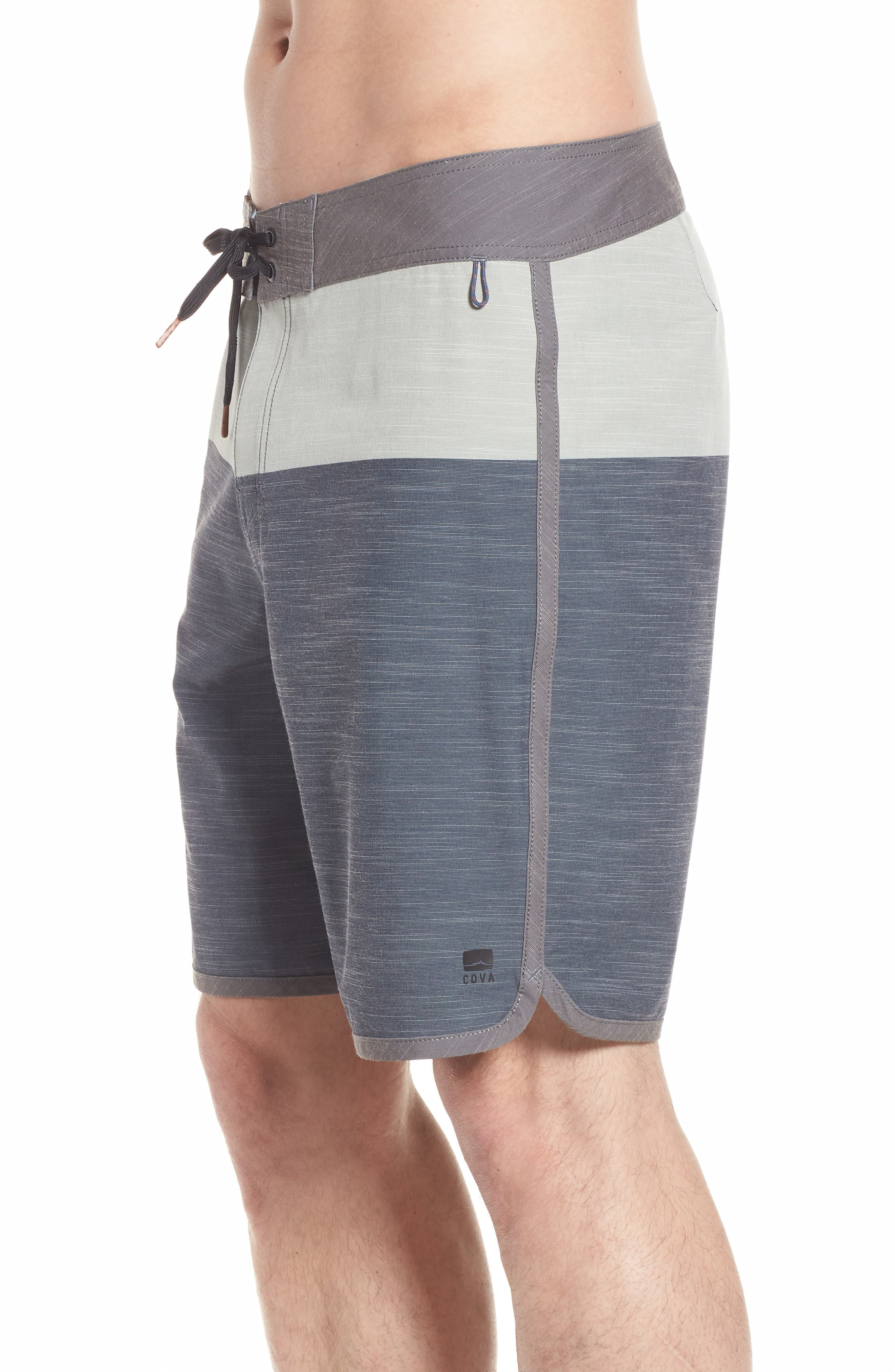 Beachcomber Board Shorts,                             Alternate thumbnail 3, color,                             Charcoal