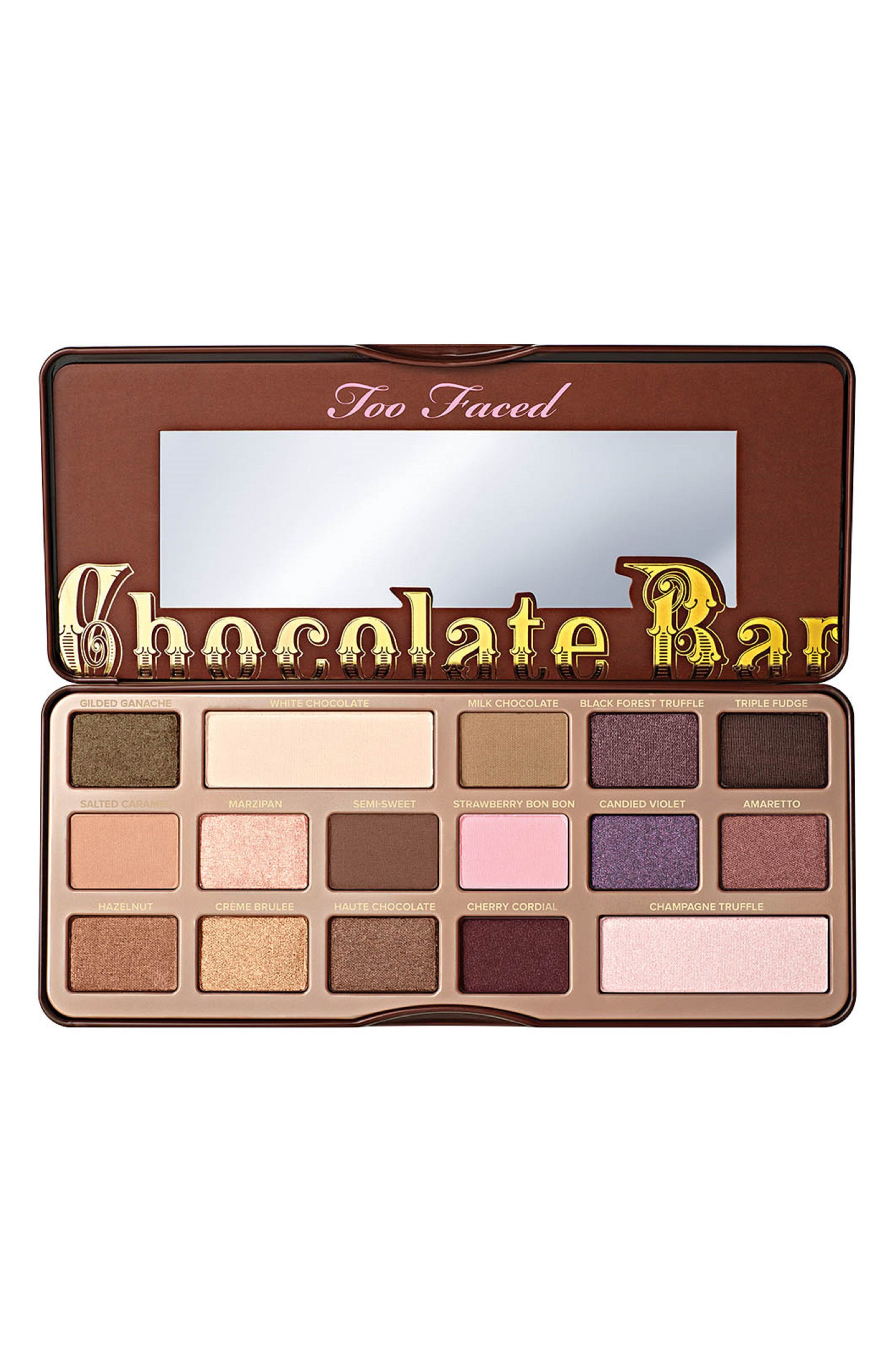 Chocolate Bar Eyeshadow Palette,                             Alternate thumbnail 8, color,                             No Color