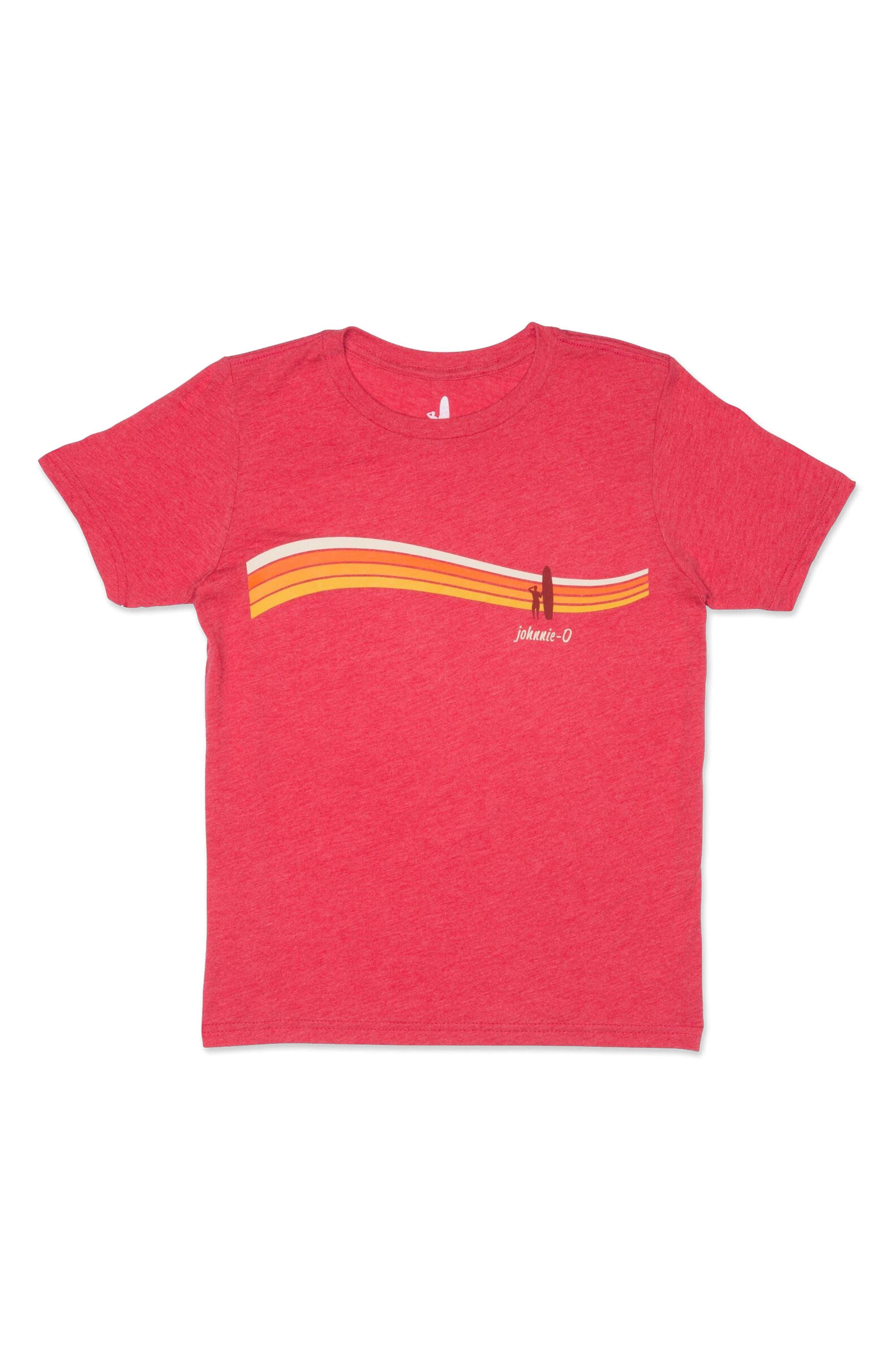 Greer Graphic T-Shirt,                         Main,                         color, Malibu Red